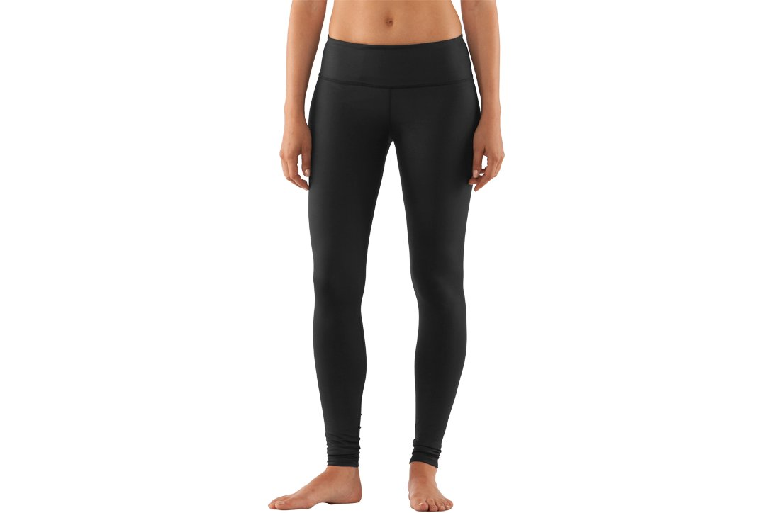 Women's UA StudioLux® Noir Leggings, Black ,