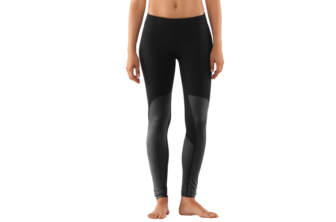 Women's UA StudioLux® Noir Moto Leggings, Black , zoomed image