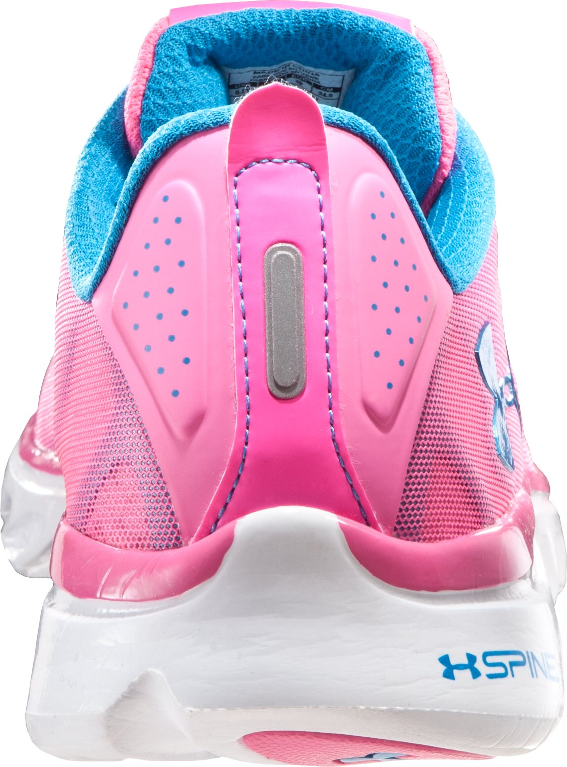 Girls' Grade School Spine Venom Running Shoes, Cerise