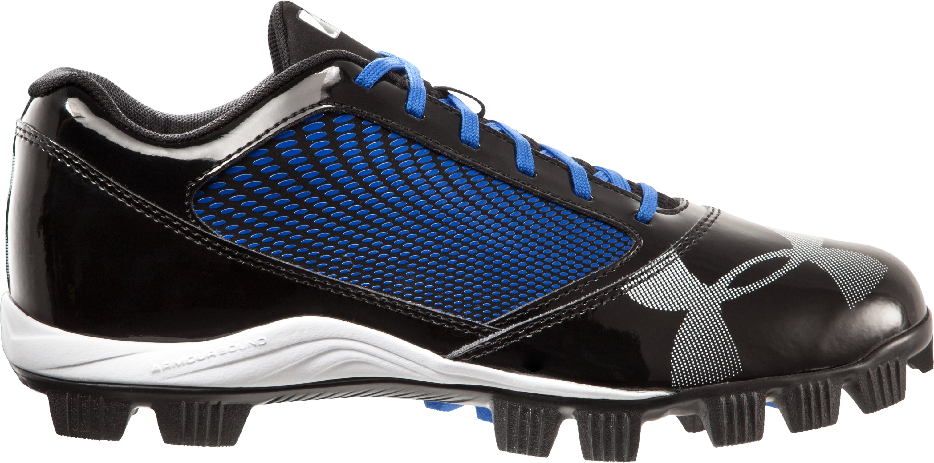 Men's UA Yard Low RM Baseball Cleats, Black