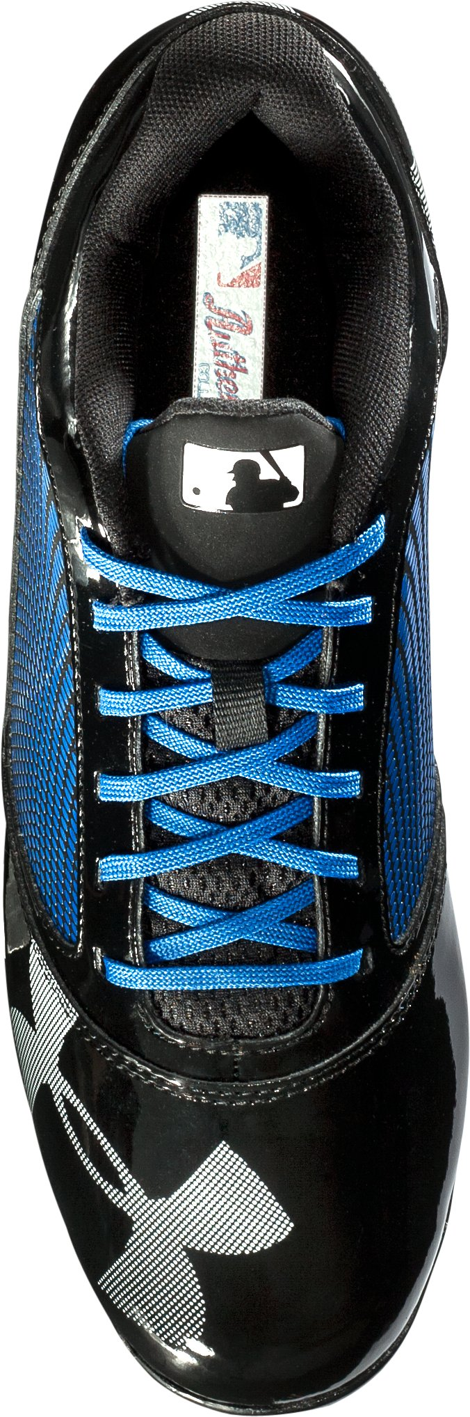 Men's UA Yard Low RM Baseball Cleats, Black , undefined