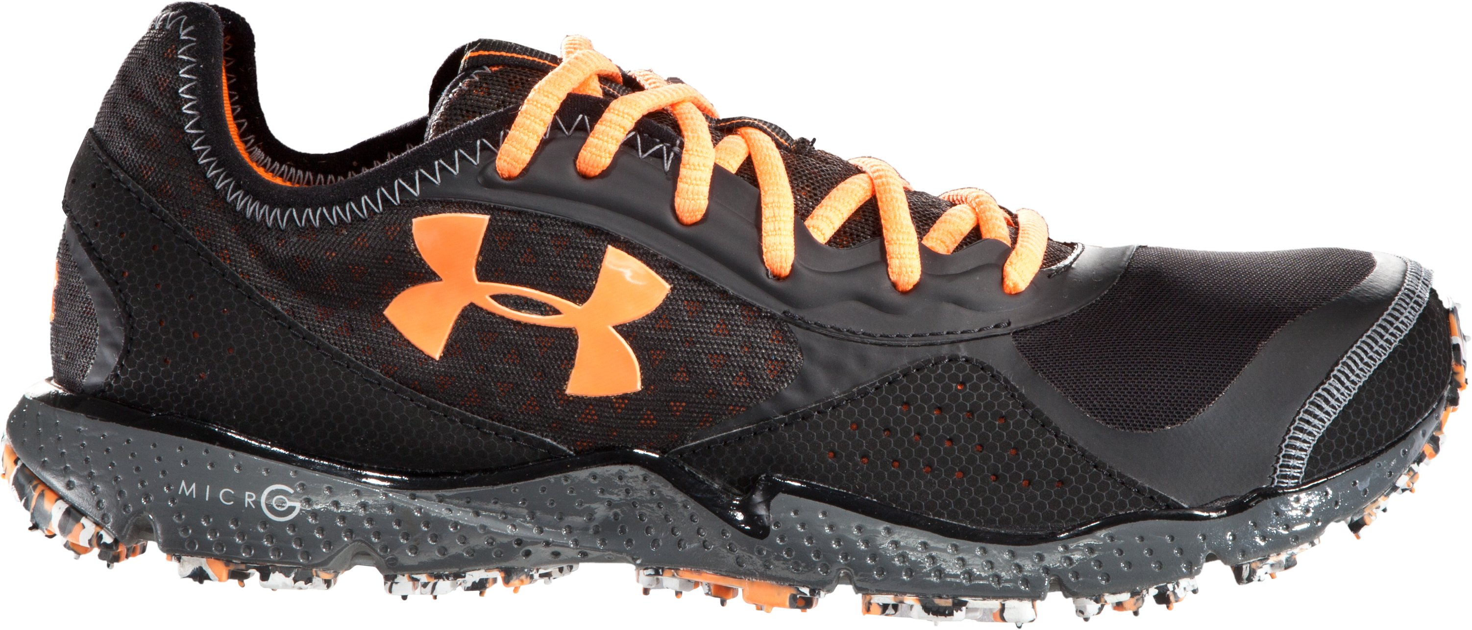 Men's UA FTHR Shield TR Running Shoes, Black , zoomed image