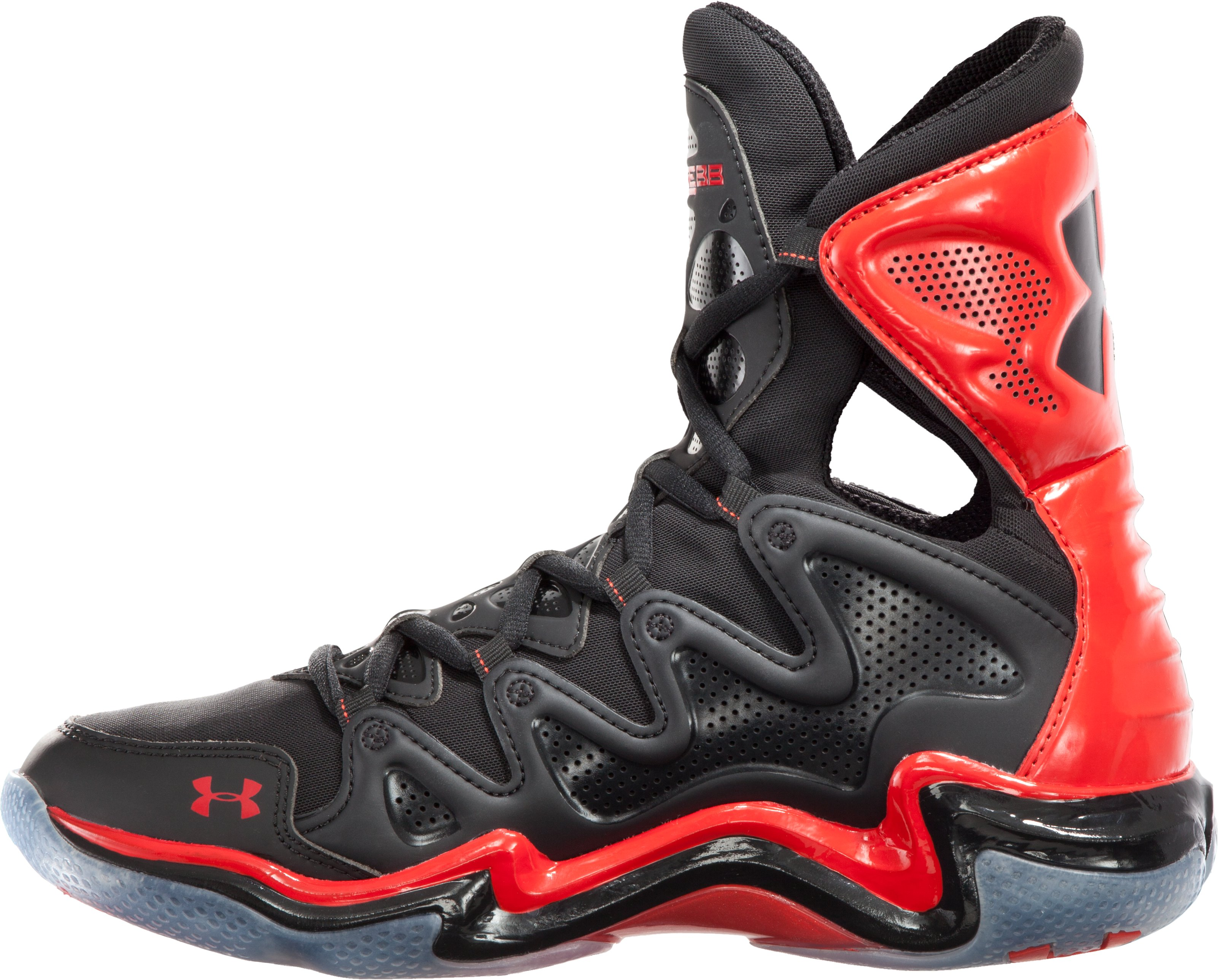 Men's UA Charge BB Basketball Shoes, Black ,