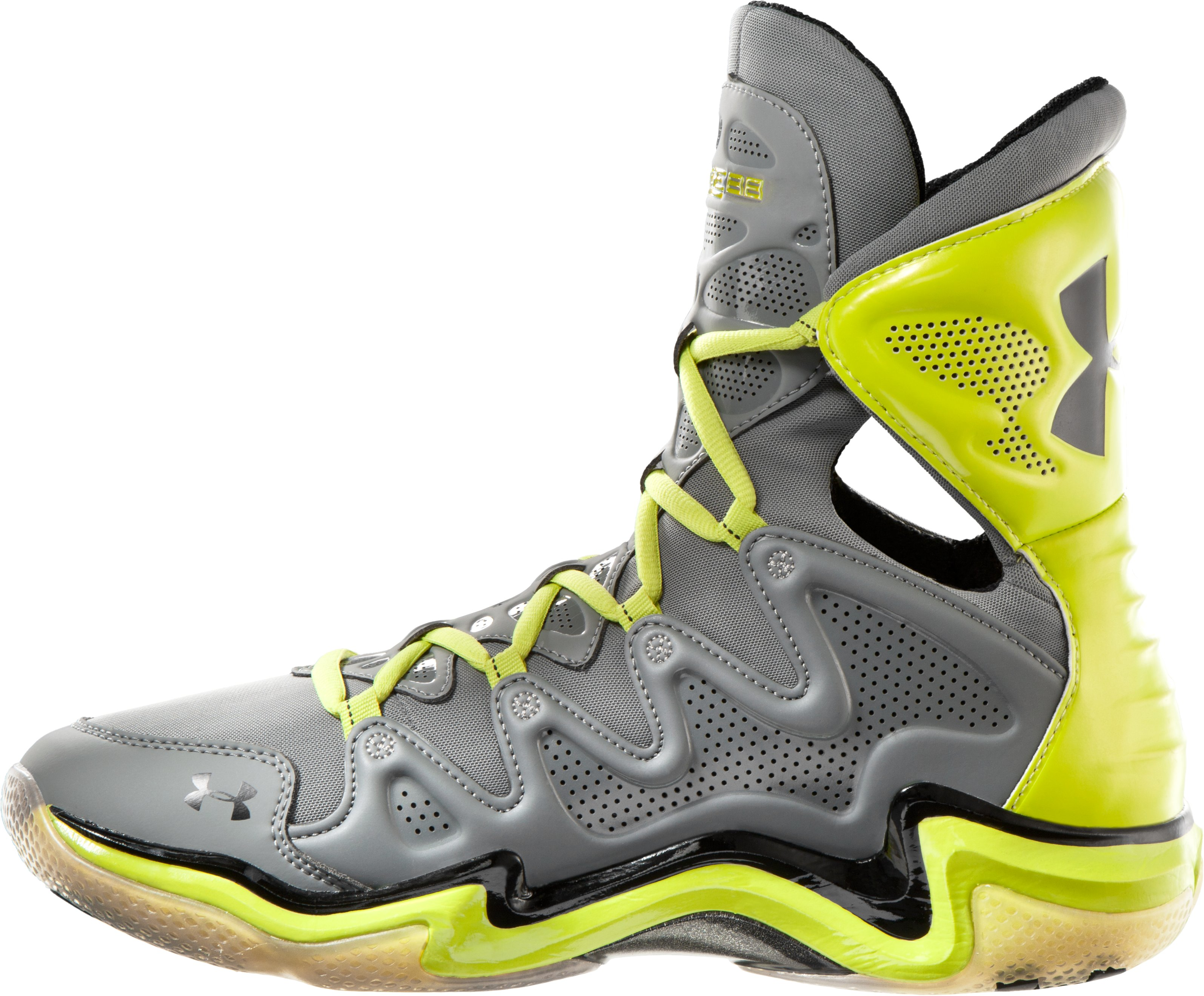 Men's UA Charge BB Basketball Shoes, Graphite