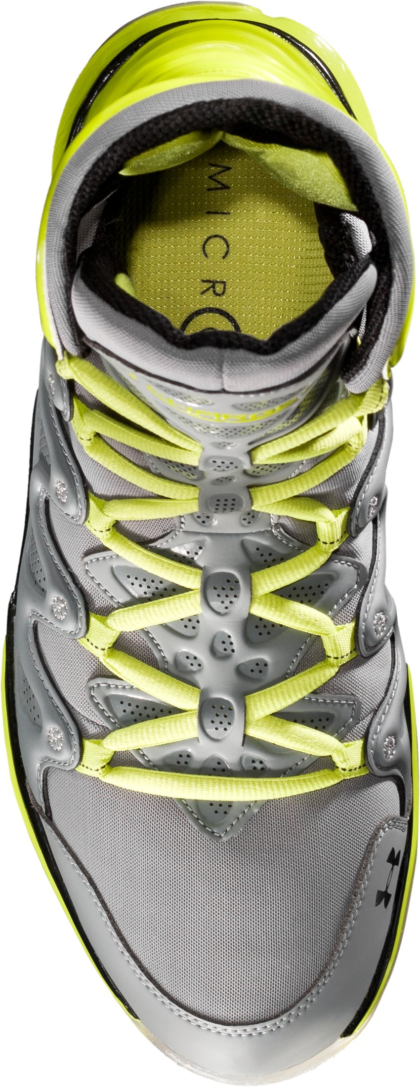 Men's UA Charge BB Basketball Shoes, Graphite, undefined