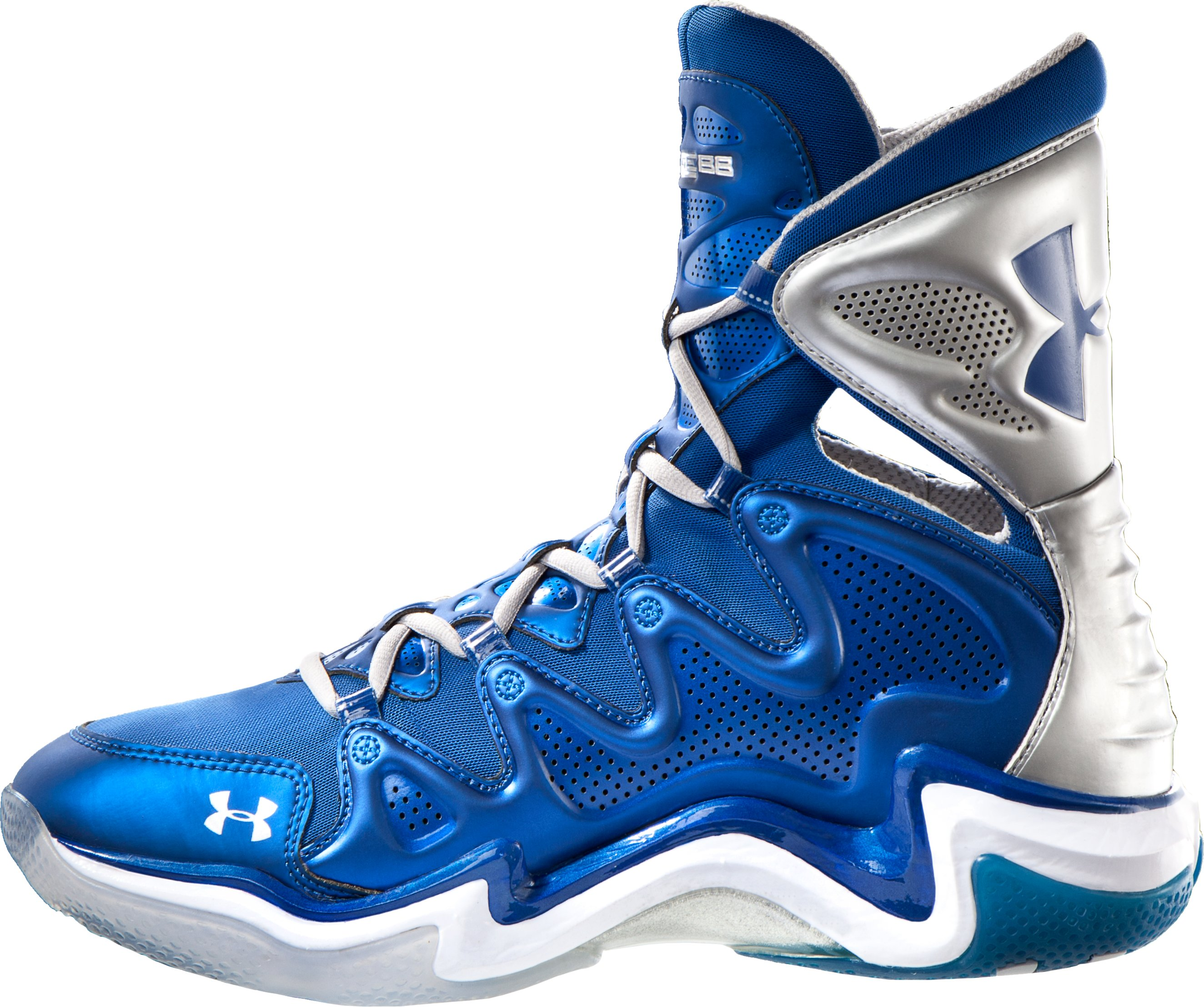 Men's UA Charge BB Basketball Shoes, EMPIRE BLUE