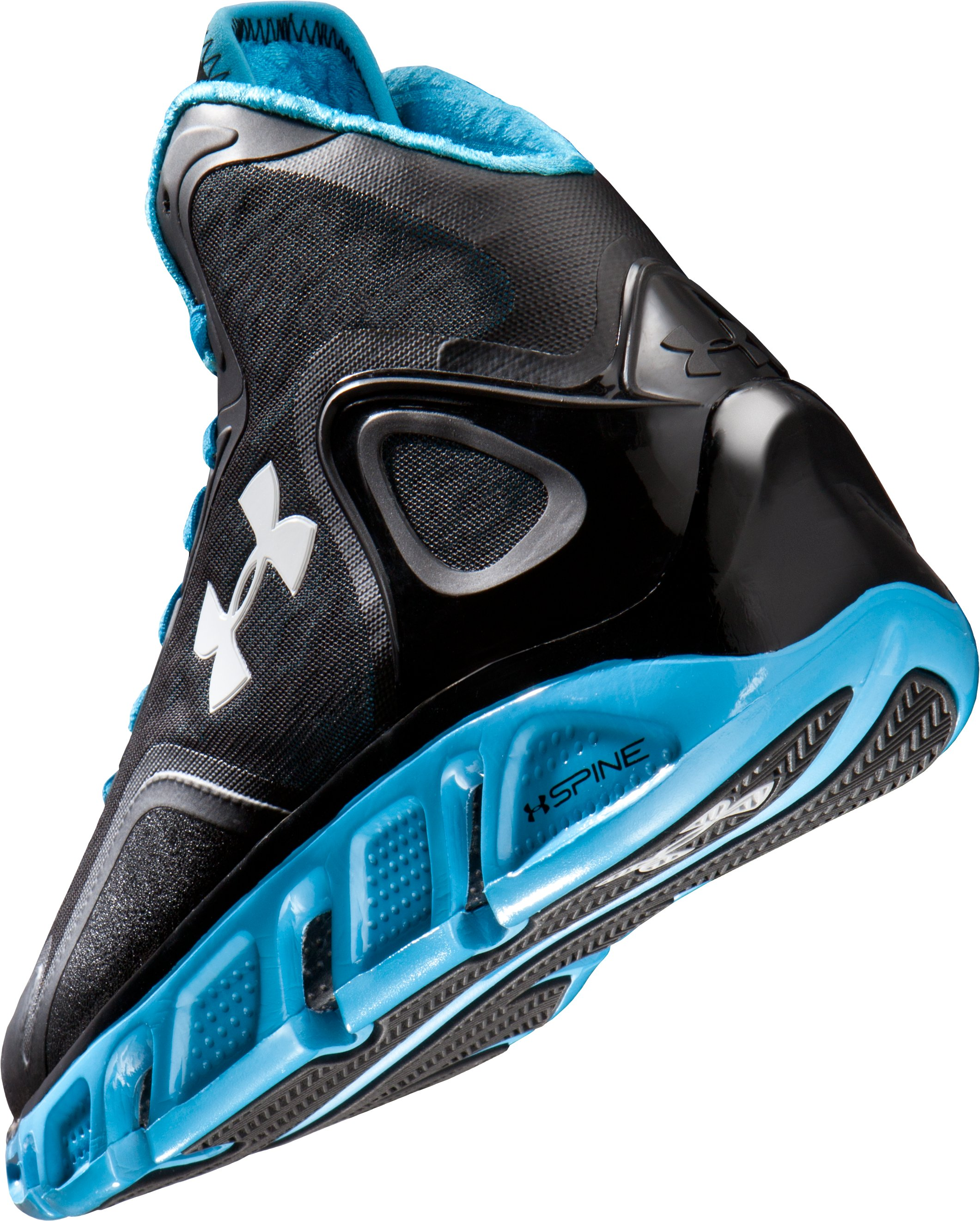 Men's UA Spine™ Bionic Basketball Shoes, Black