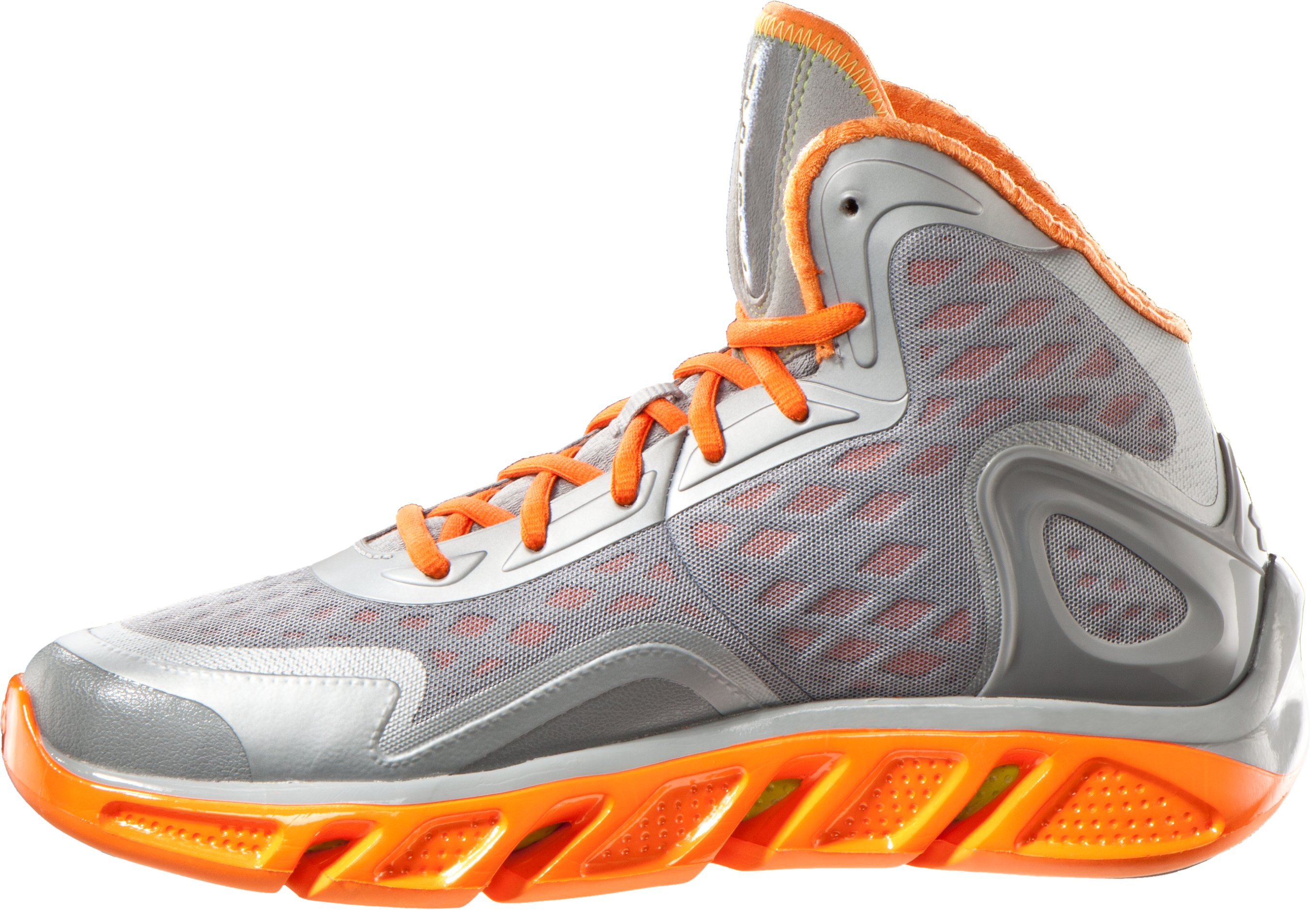 Men's UA Spine™ Bionic Basketball Shoes, Steel, undefined