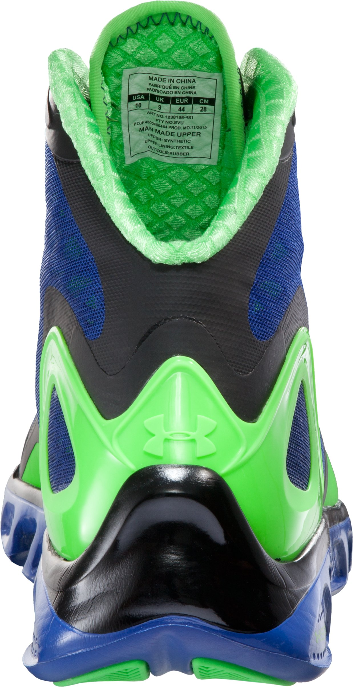 Men's UA Spine™ Bionic Basketball Shoes, SNORKEL