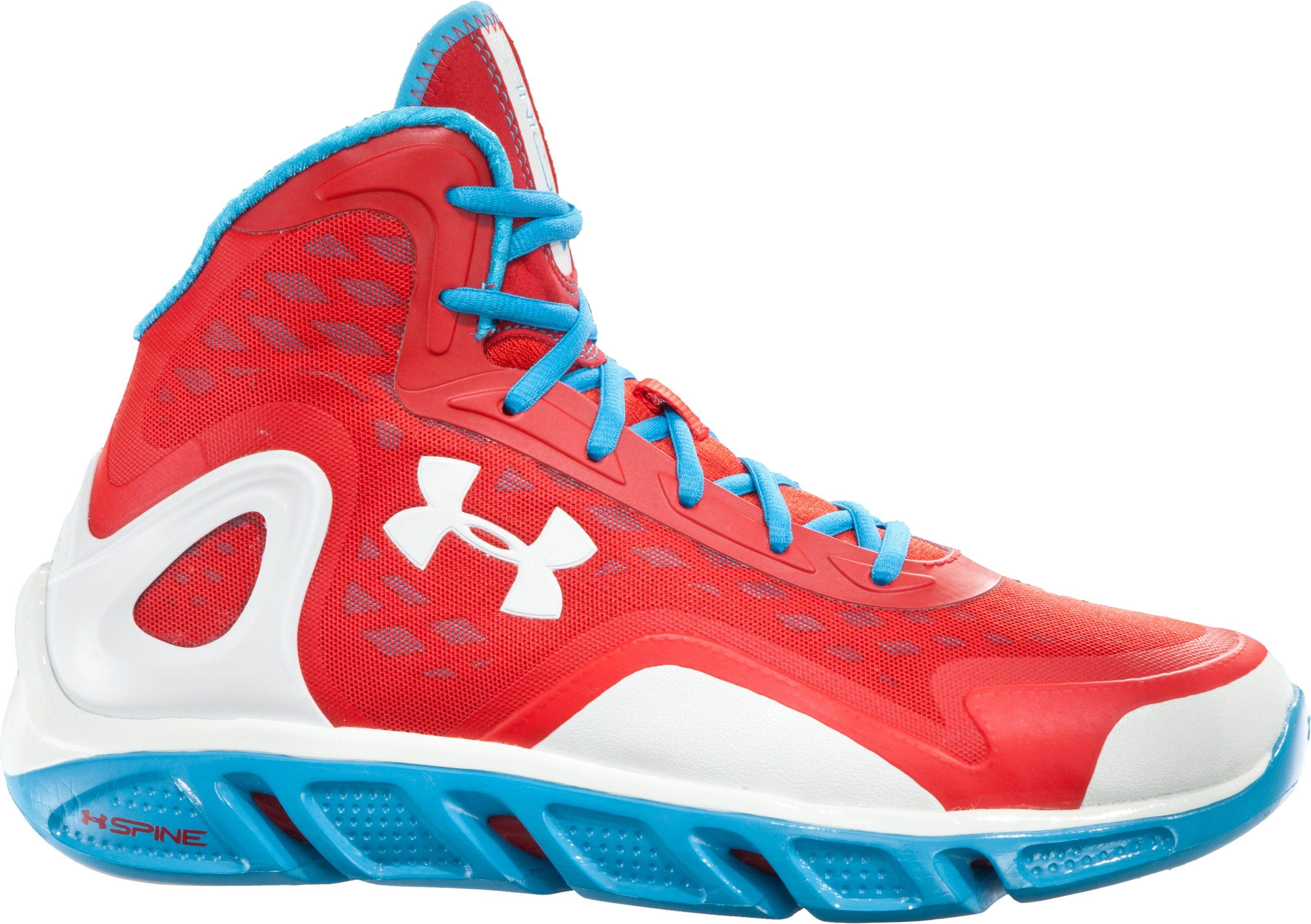 Men's UA Spine™ Bionic Basketball Shoes, Red