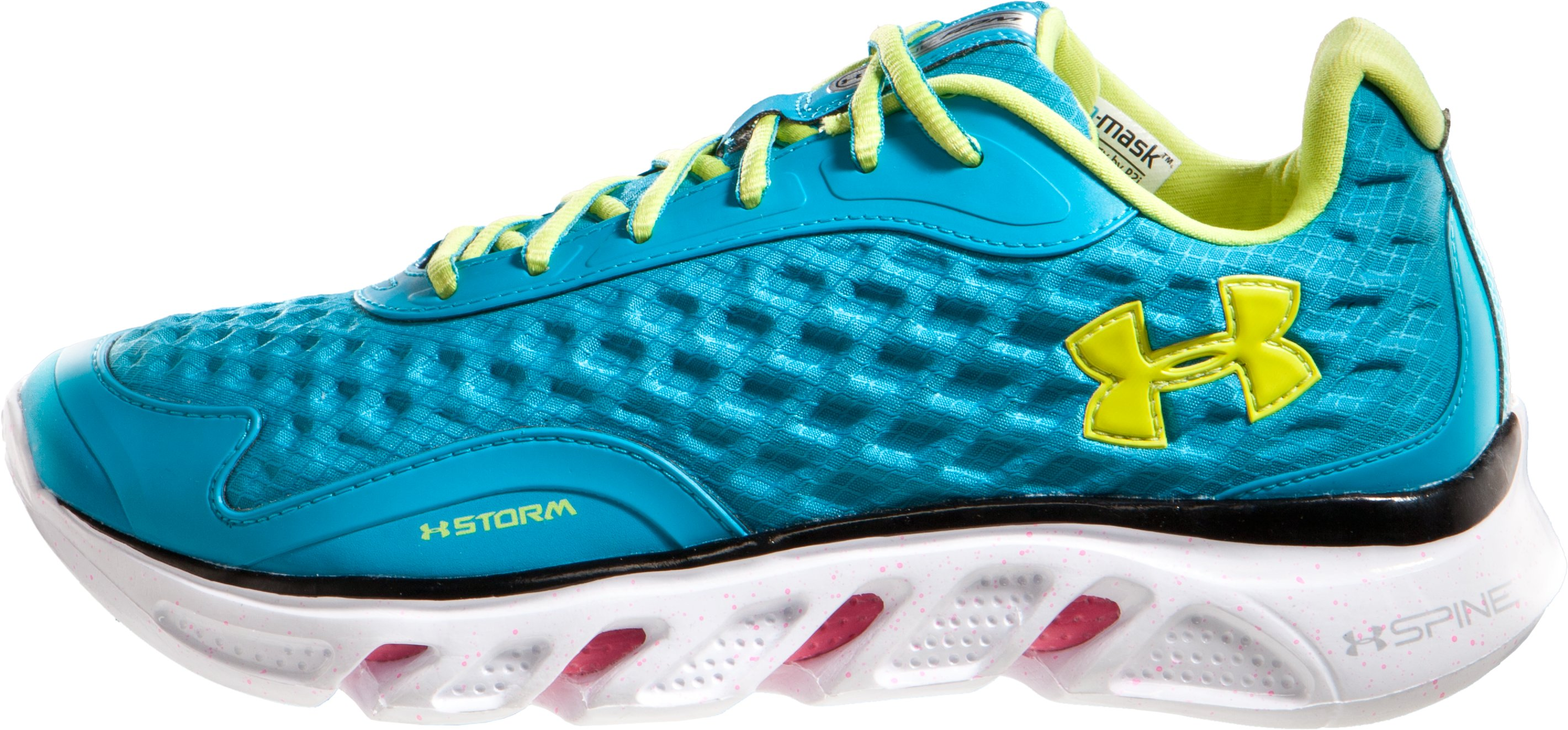 Women's UA Spine RPM Storm Running Shoes, Deceit, zoomed image