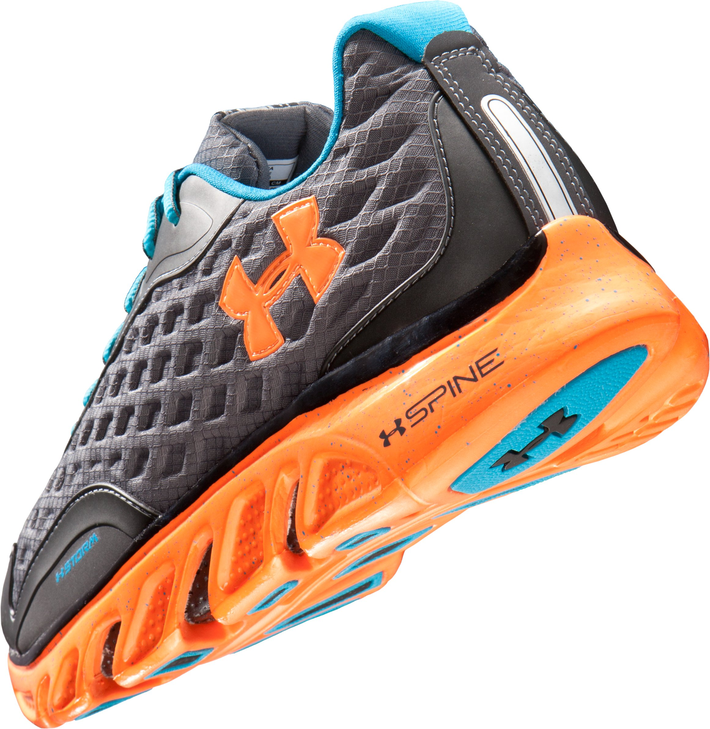 Men's UA Spine™ RPM Storm Running Shoes, Charcoal