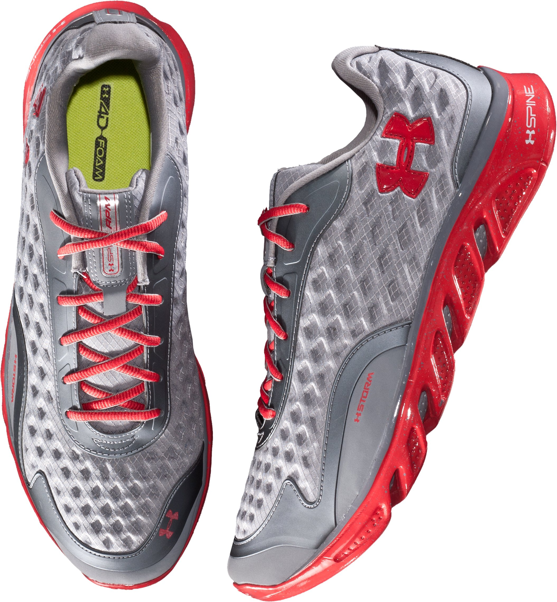 Men's UA Spine™ RPM Storm Running Shoes, Graphite, undefined