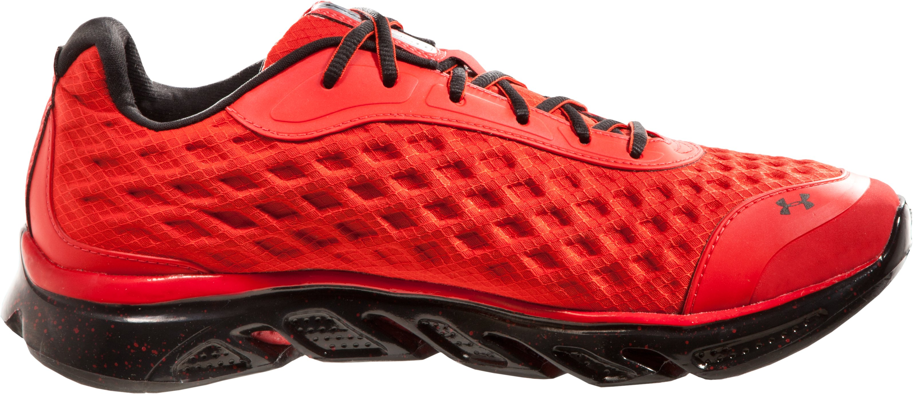 Men's UA Spine™ RPM Storm Running Shoes, Red, undefined