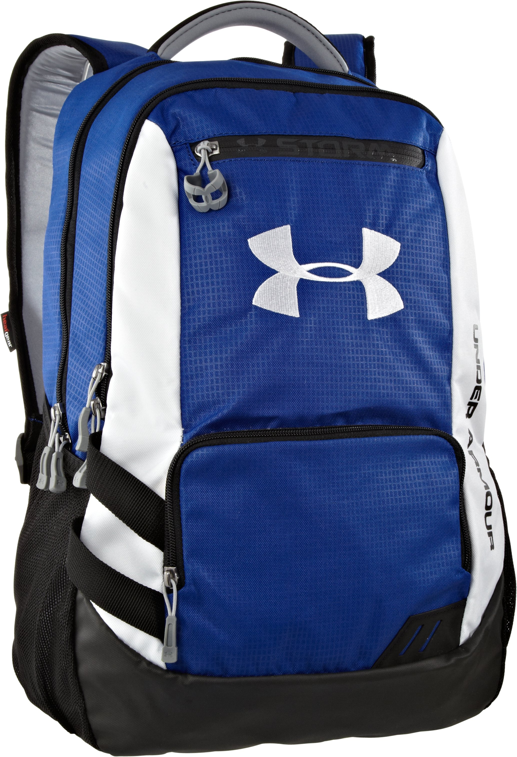 UA Hustle Storm Backpack, Royal, zoomed image