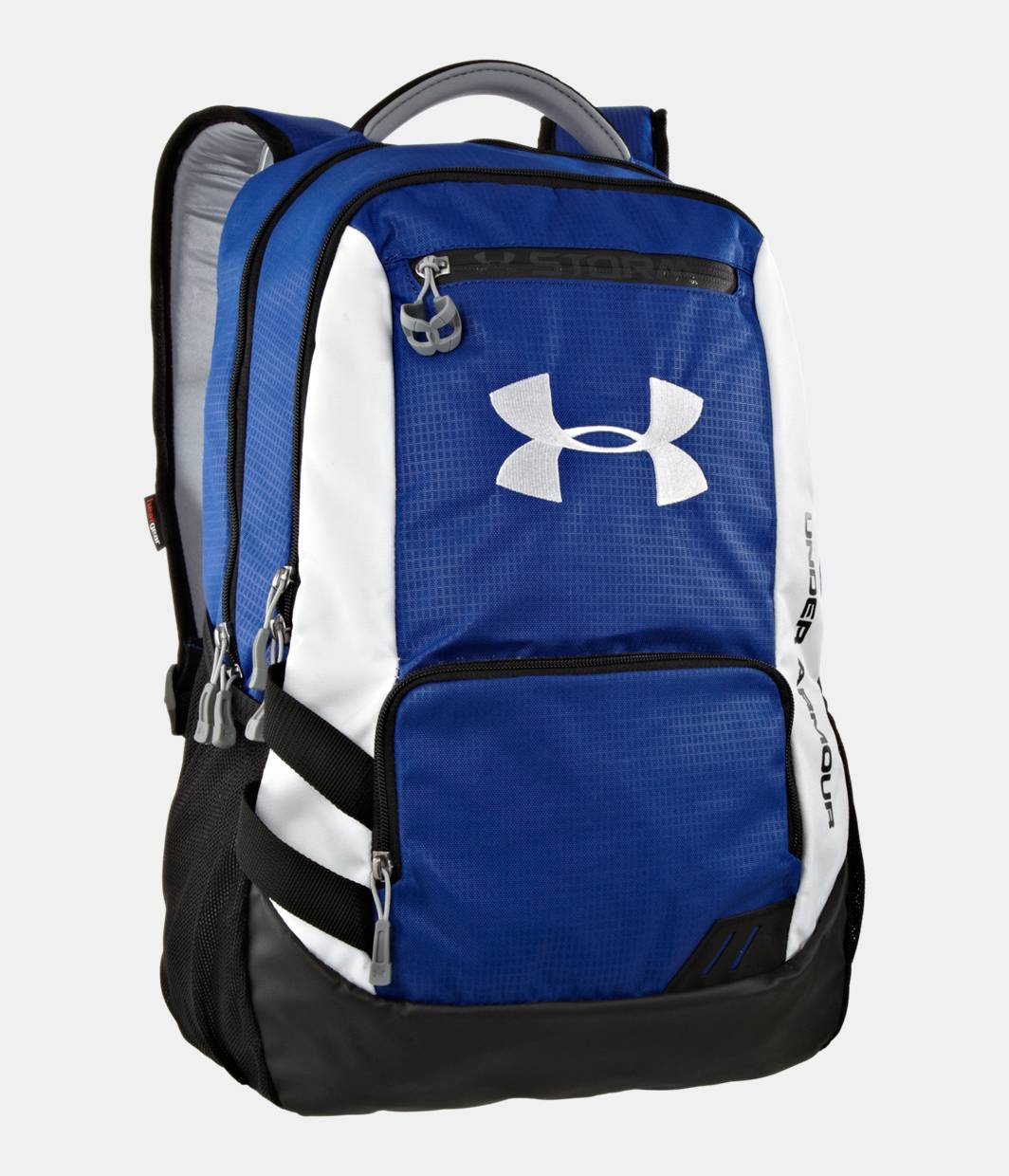 ua hustle storm backpack under armour us. Black Bedroom Furniture Sets. Home Design Ideas