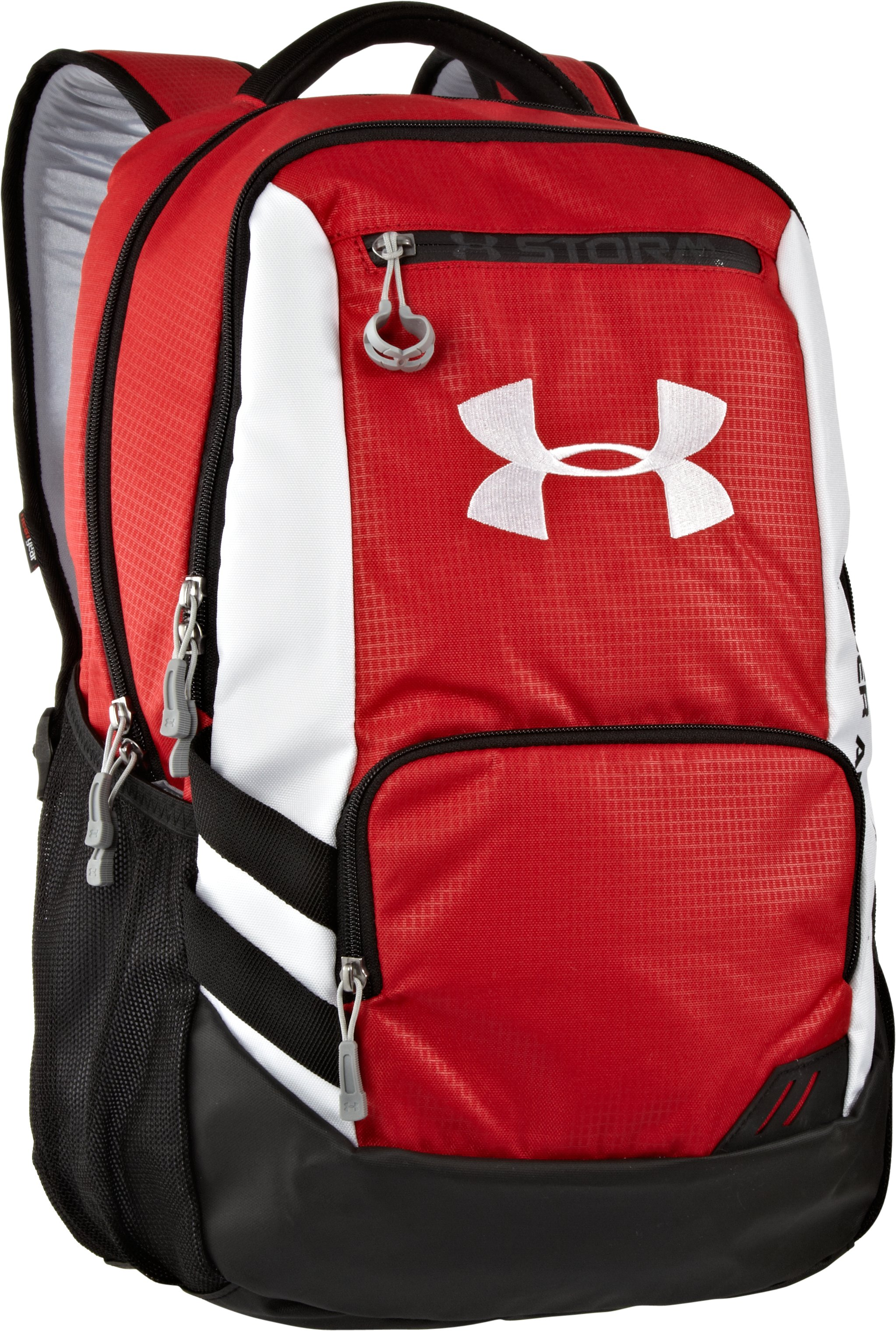 UA Hustle Storm Backpack, Red