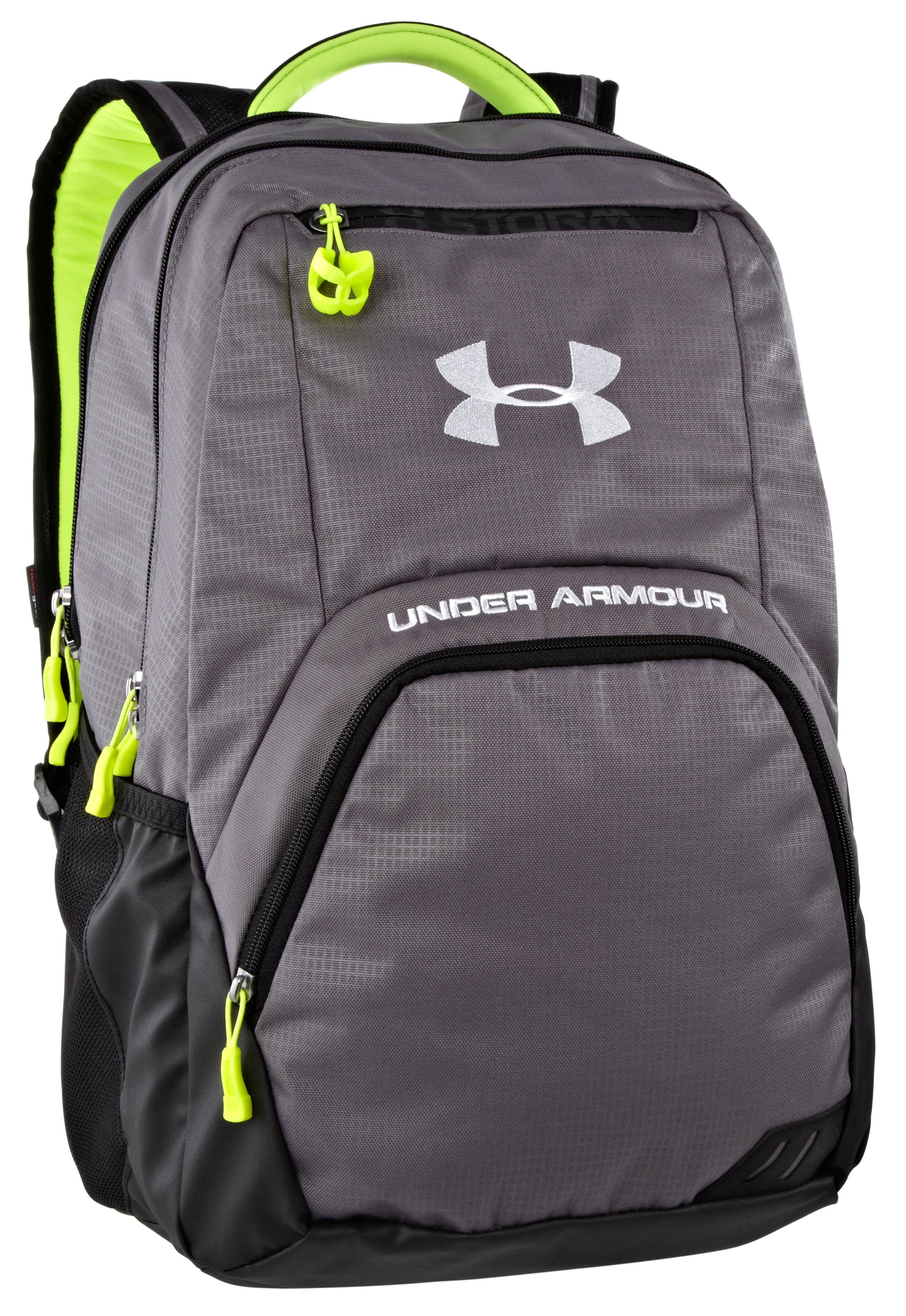 UA Exeter Storm Backpack, Graphite, zoomed image