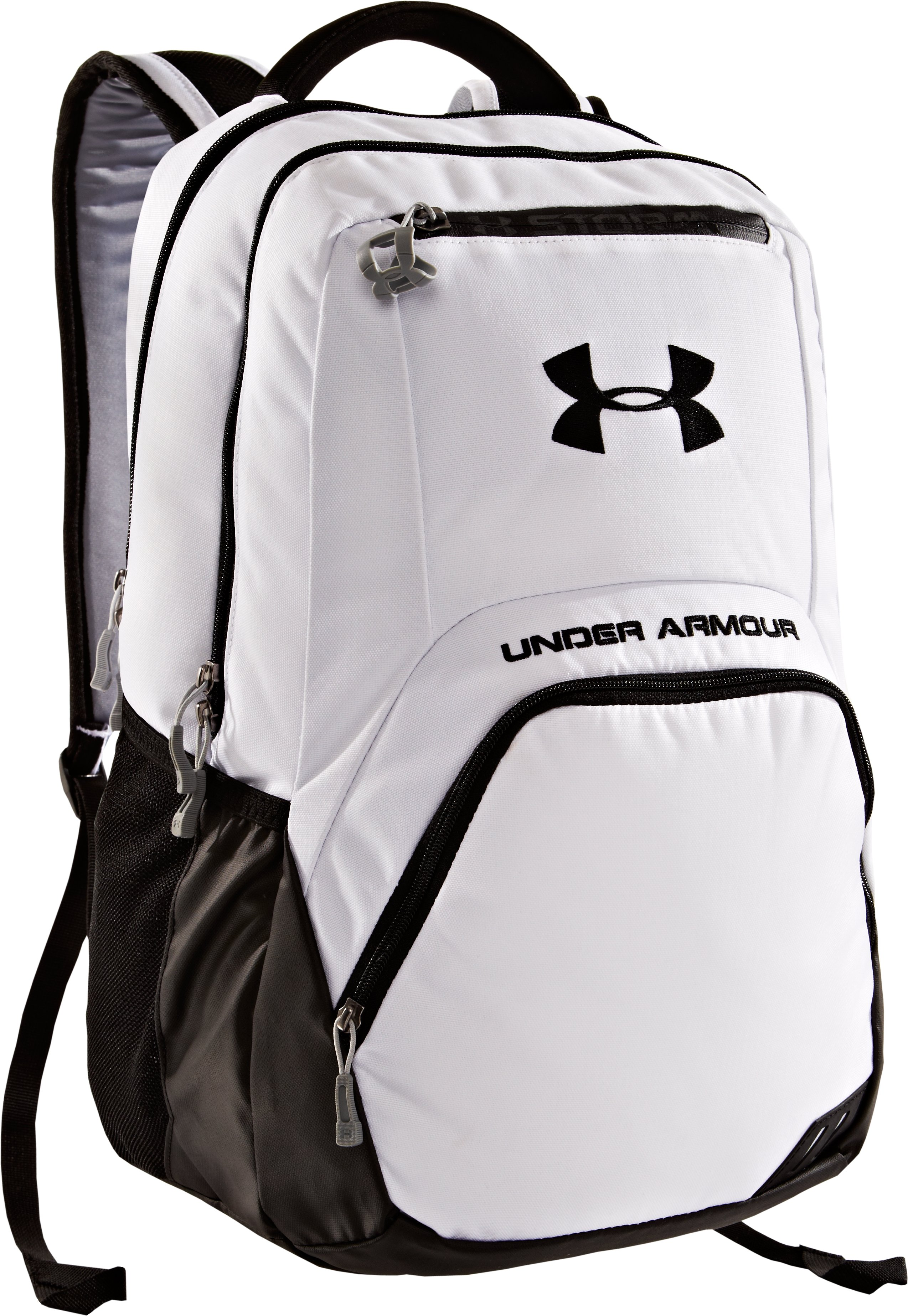 UA Exeter Storm Backpack, White, zoomed image