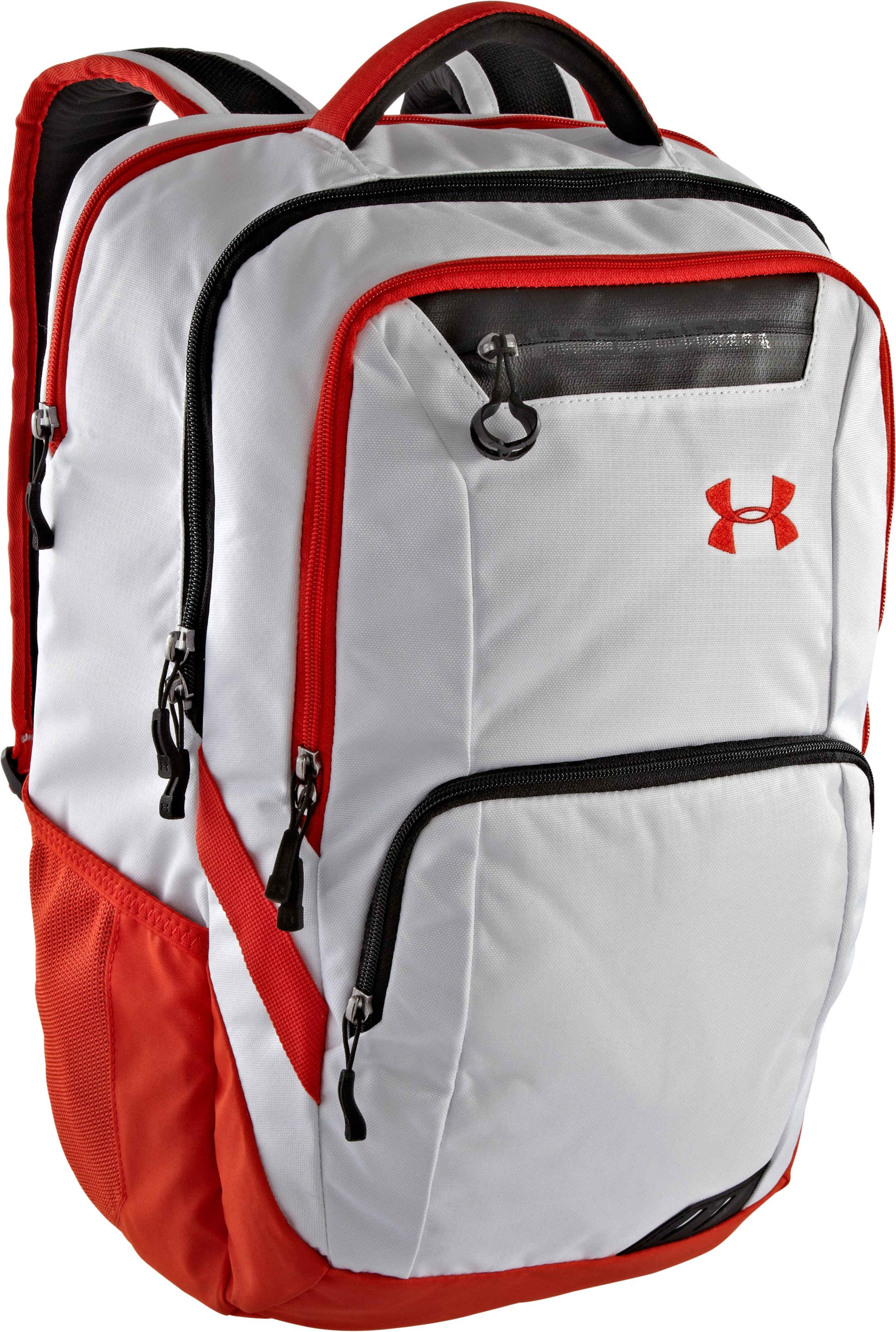 UA Keyser Storm Backpack, White, zoomed image