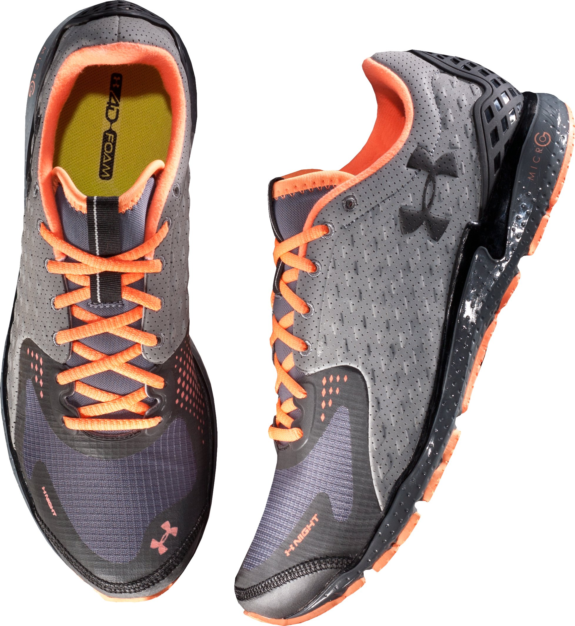 Men's UA Reflective Running Shoes, Charcoal,