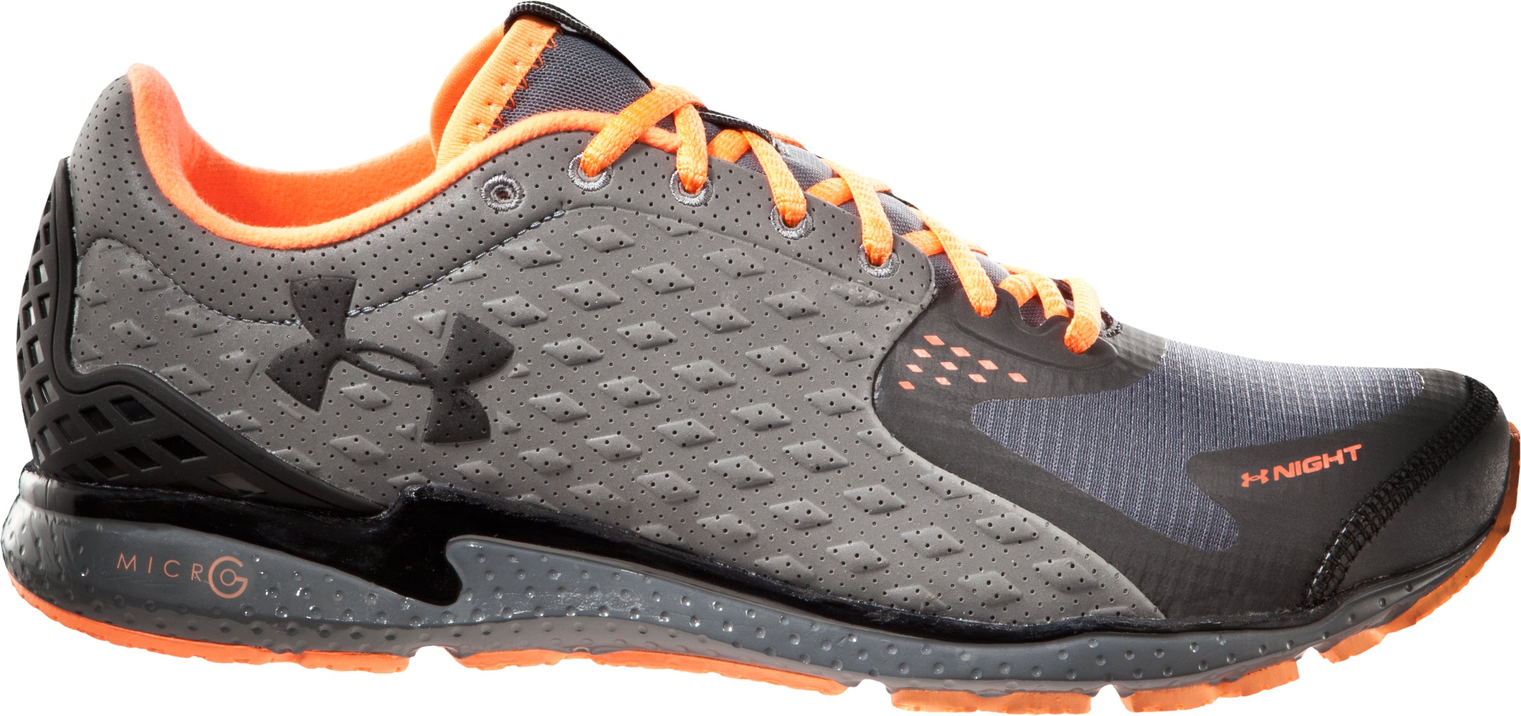 Men's UA Reflective Running Shoes, Charcoal