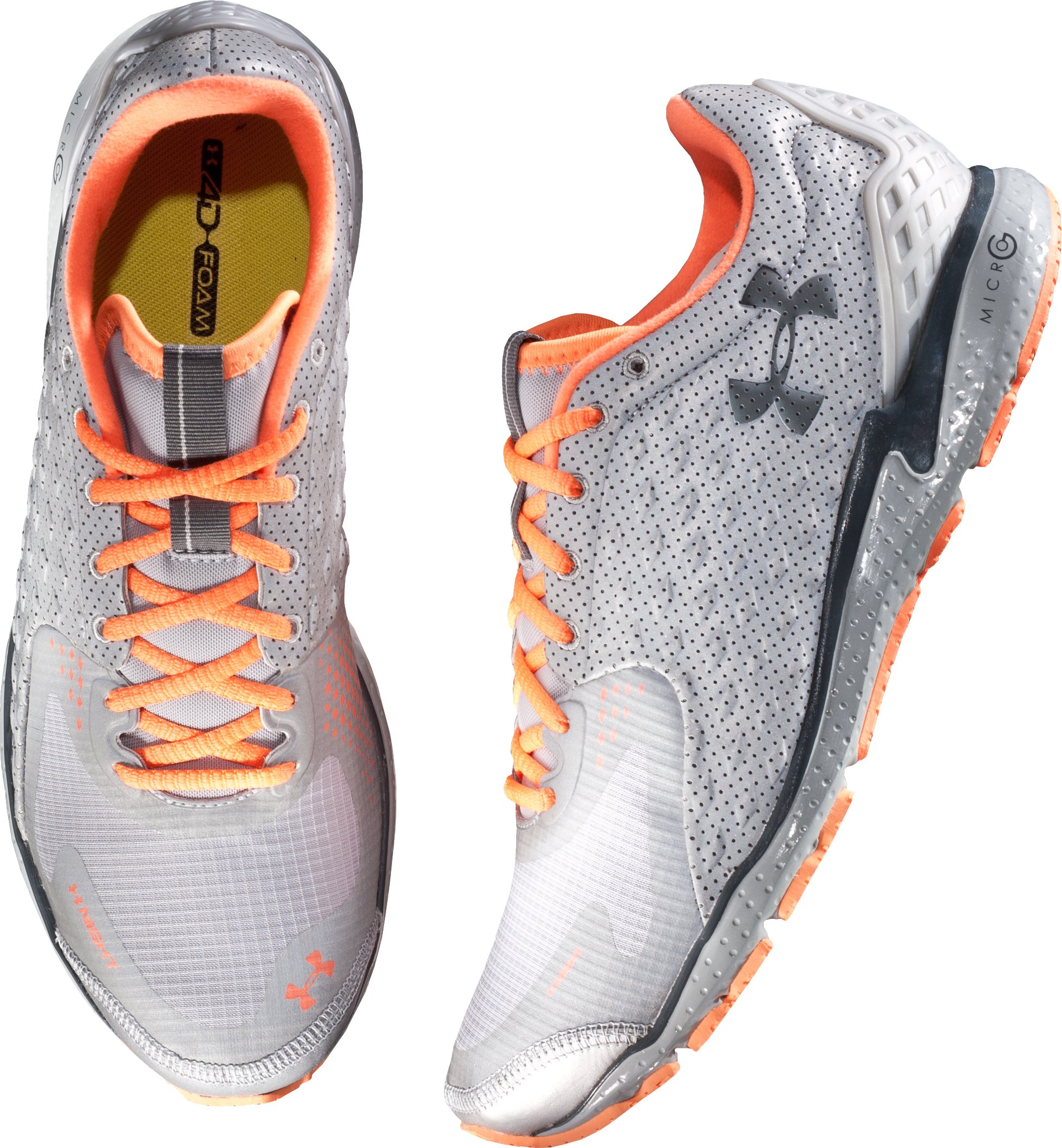 Men's UA Reflective Running Shoes, Metallic Silver