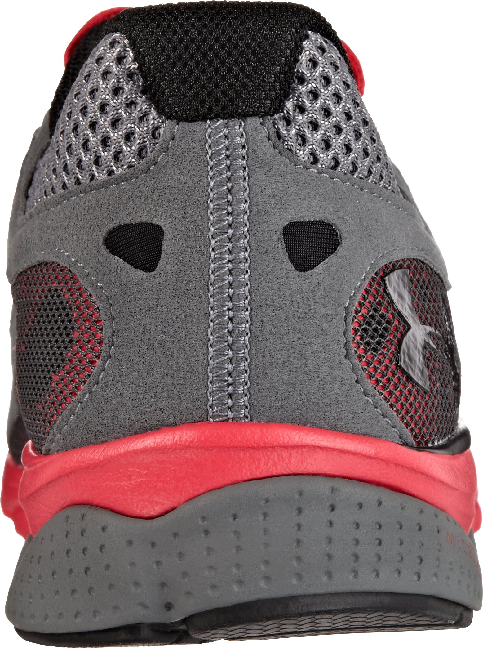 Men's UA Micro G® Ignite Running Shoes, Charcoal