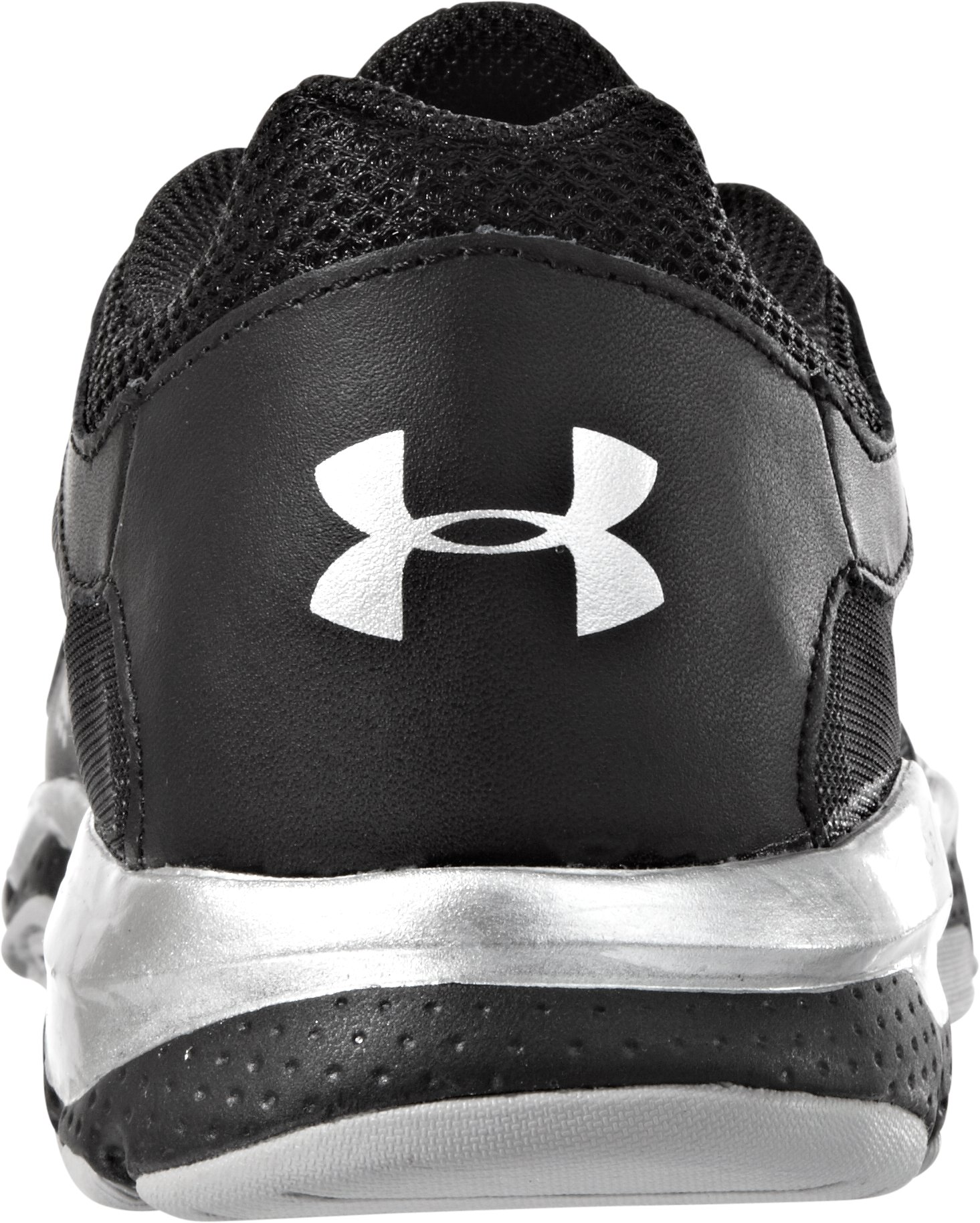 Boys' UA Micro G® Pulse Grade School Training Shoes, Black