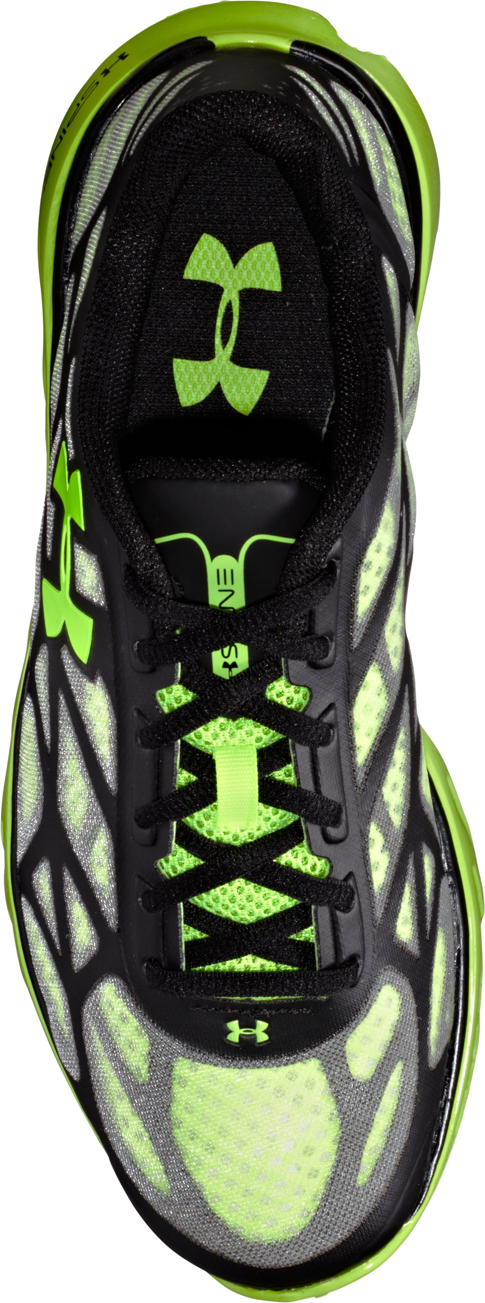 Boys' UA Spine™ Vice Grade School Running Shoes, Bitter