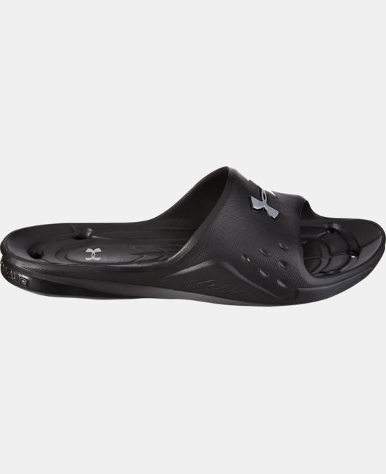 Men's UA Locker Slides  LIMITED TIME: FREE SHIPPING 1 Color $18.99