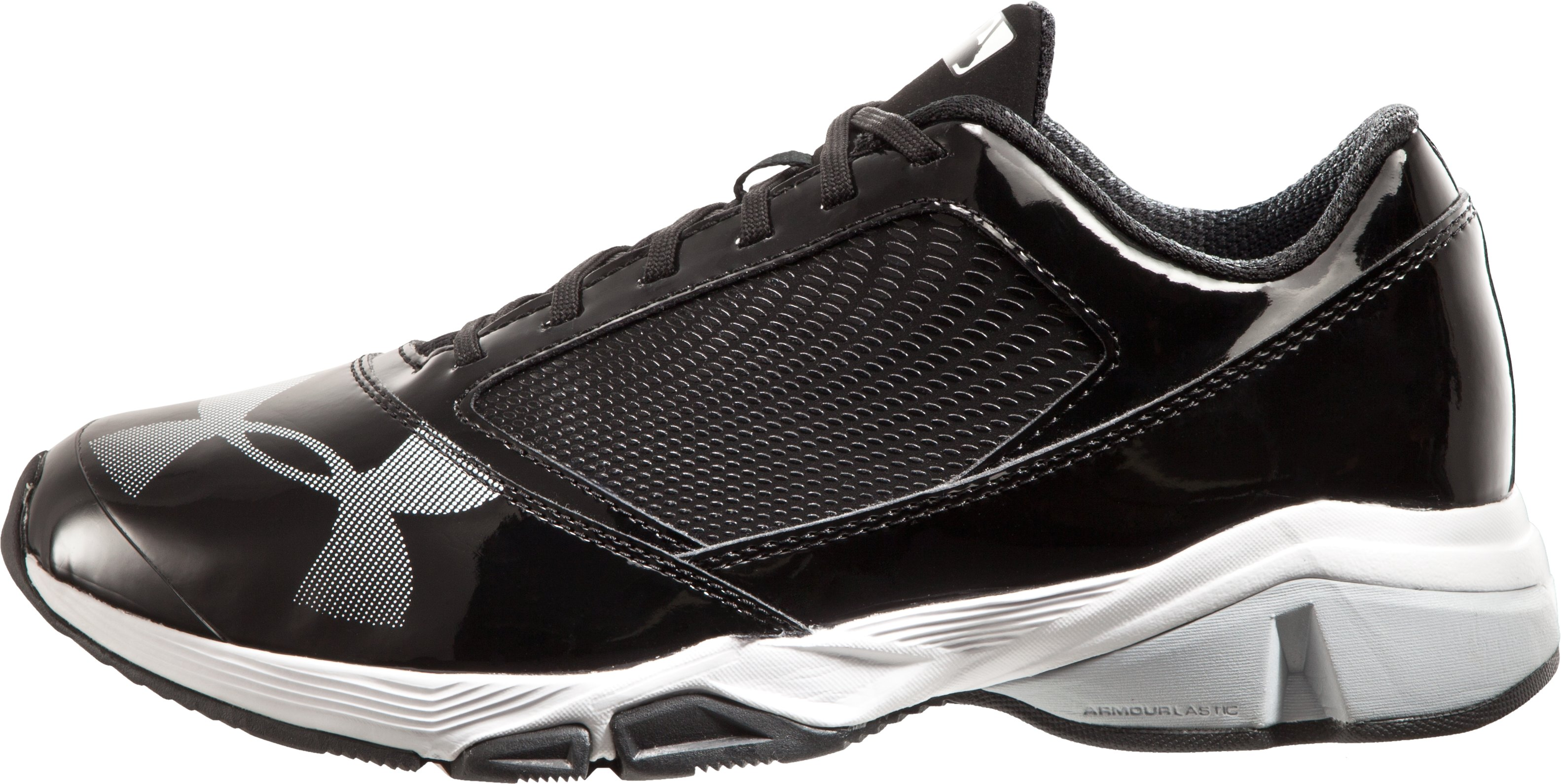 Men's UA Yard Baseball Trainer — Wide (2E), Black