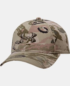 Men's UA Camo Cap  3  Colors $24.99