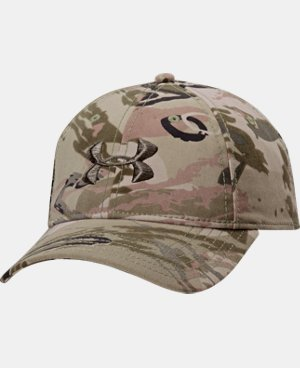 Men's UA Camo Cap  4 Colors $24.99