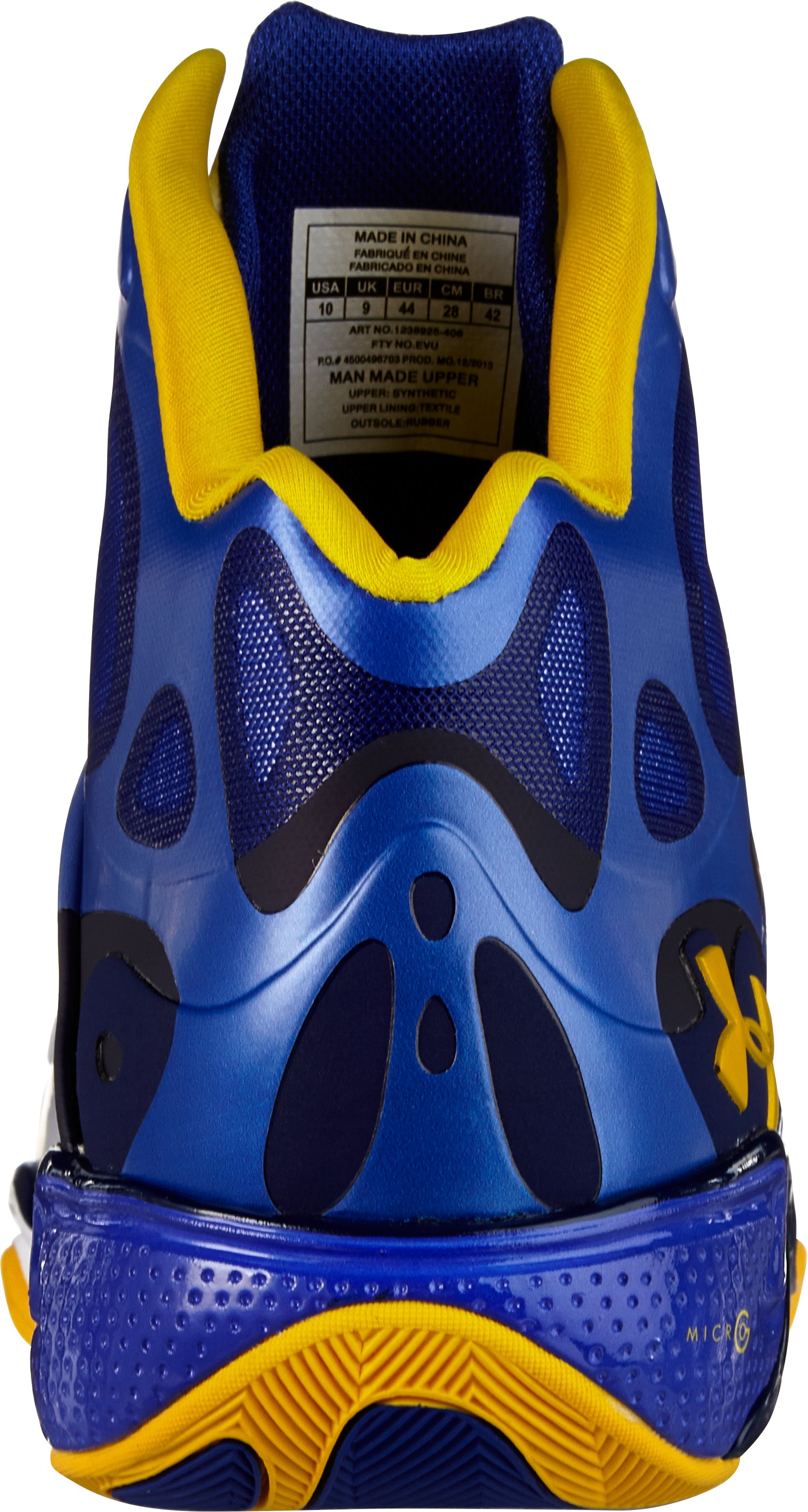 Men's UA Micro G® Anatomix Spawn Basketball Shoes, Royal