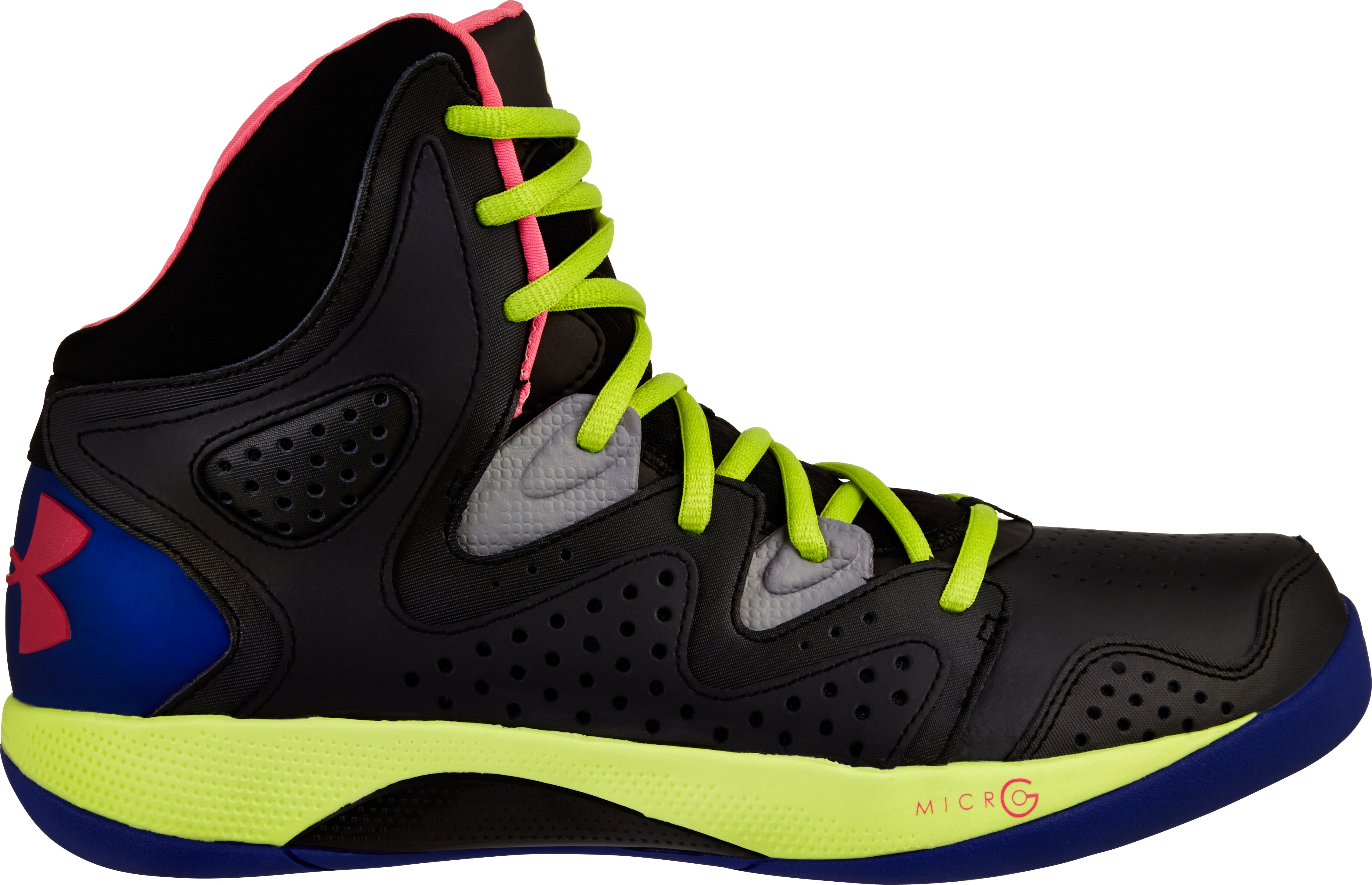 Men's UA Micro G® Torch 2 Basketball Shoes, Black