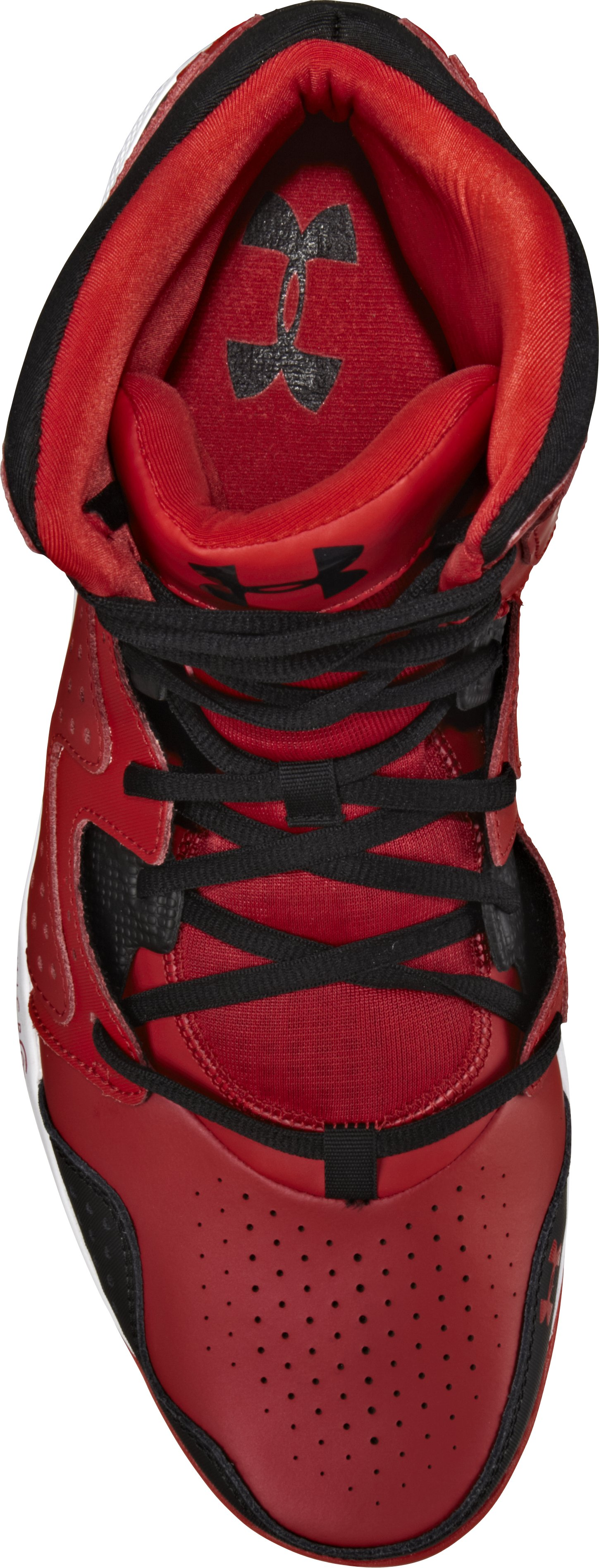 Men's UA Micro G® Torch 2 Basketball Shoes, Red