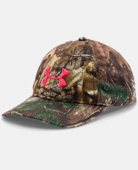 Women's UA Camo Cap LIMITED TIME OFFER 1 Color $18.74