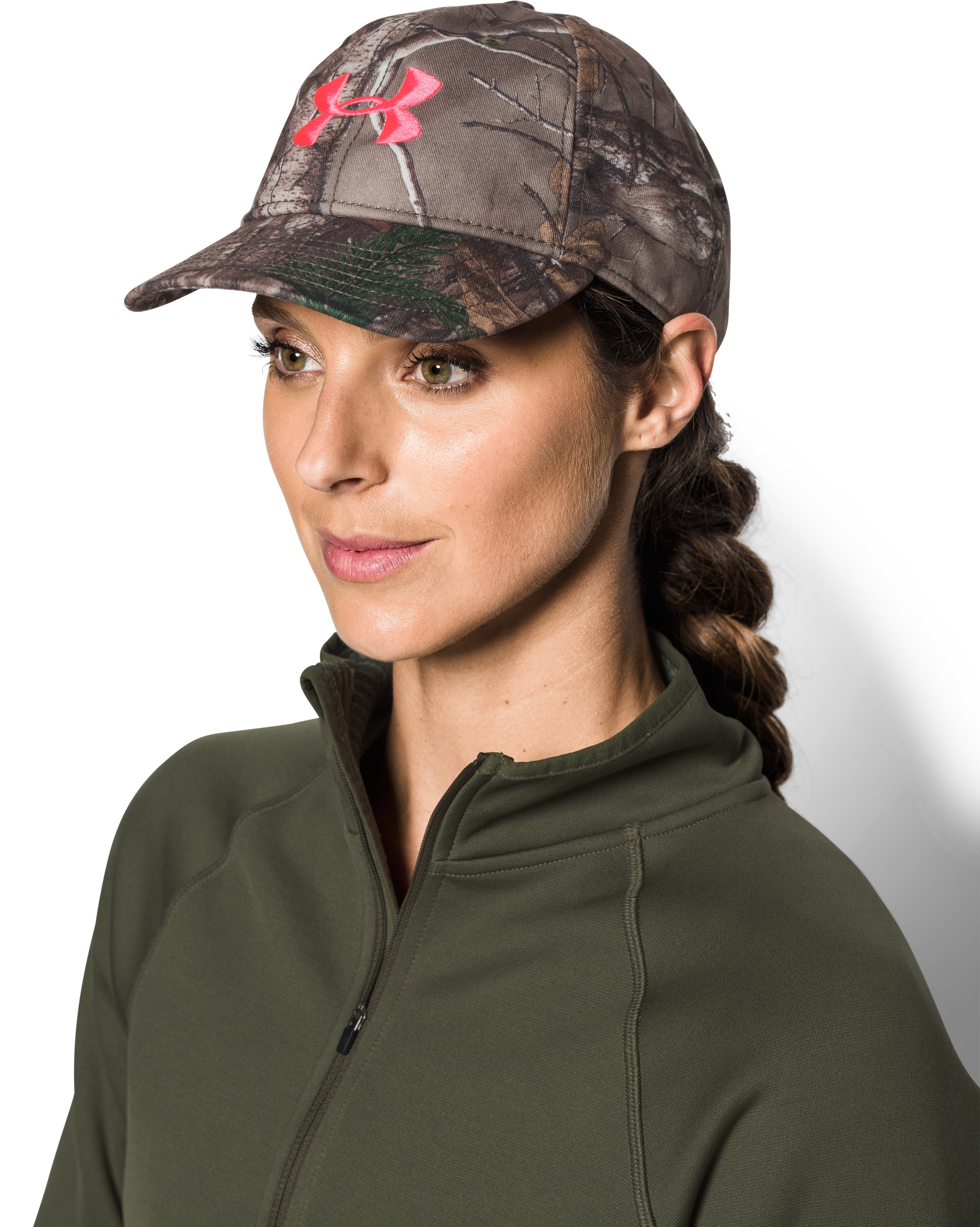 Women's UA Camo Hat, REALTREE AP-XTRA, undefined