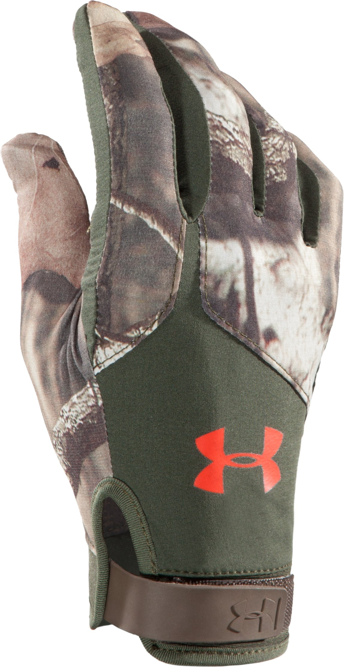 Men's UA Anchor Point Hunting Gloves, Mossy Oak Break-Up Infinity,
