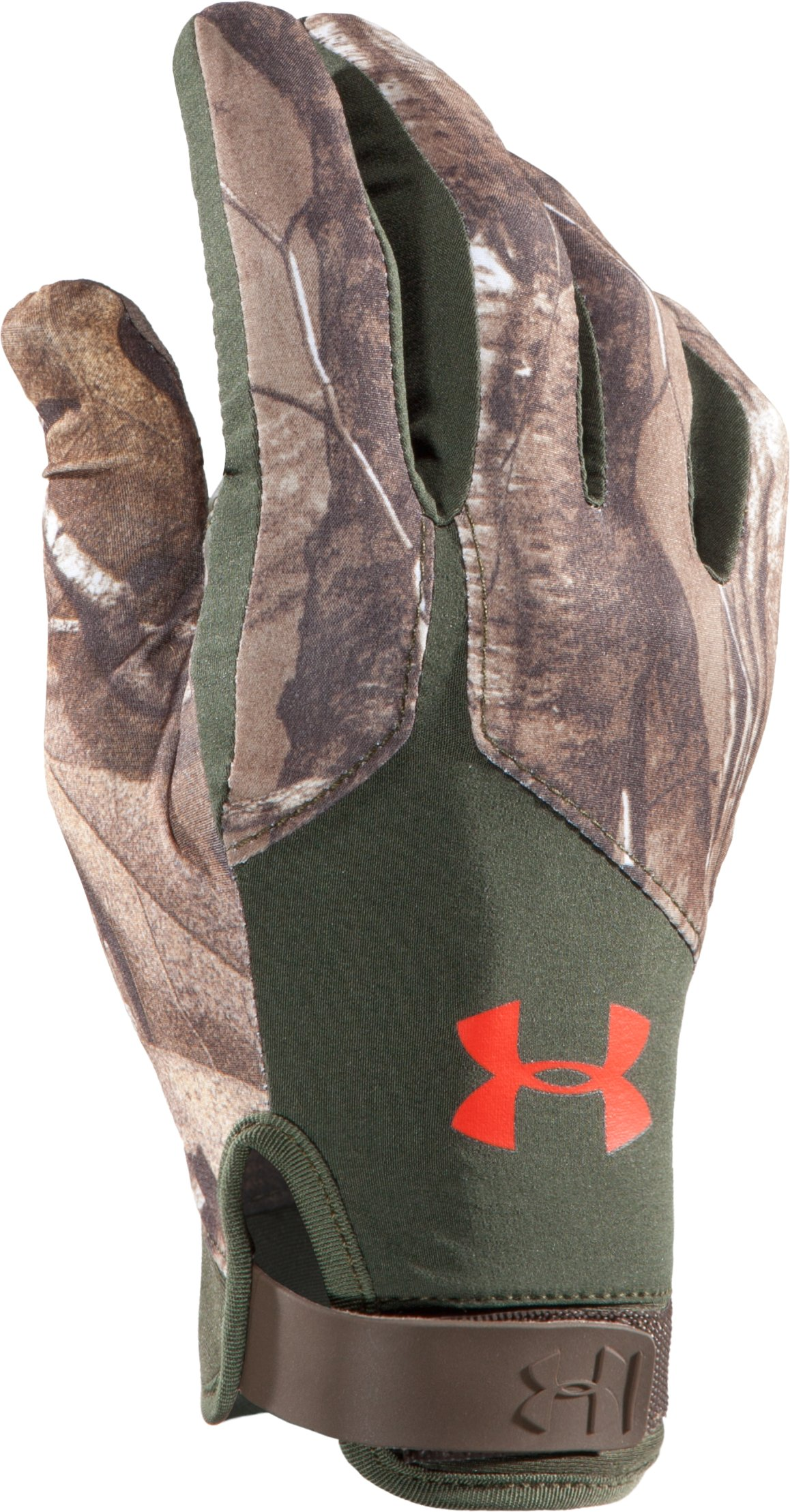 Men's UA Anchor Point Hunting Gloves, REALTREE AP-XTRA