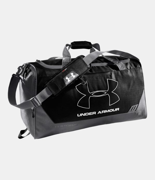 e45a1729298 UA Hustle Storm MD Duffle Bag