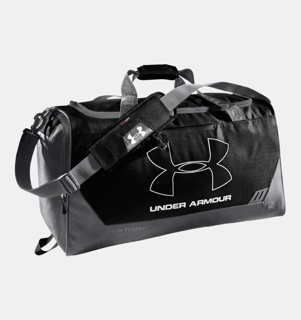 Ua Hustle Storm Md Duffle Bag Black