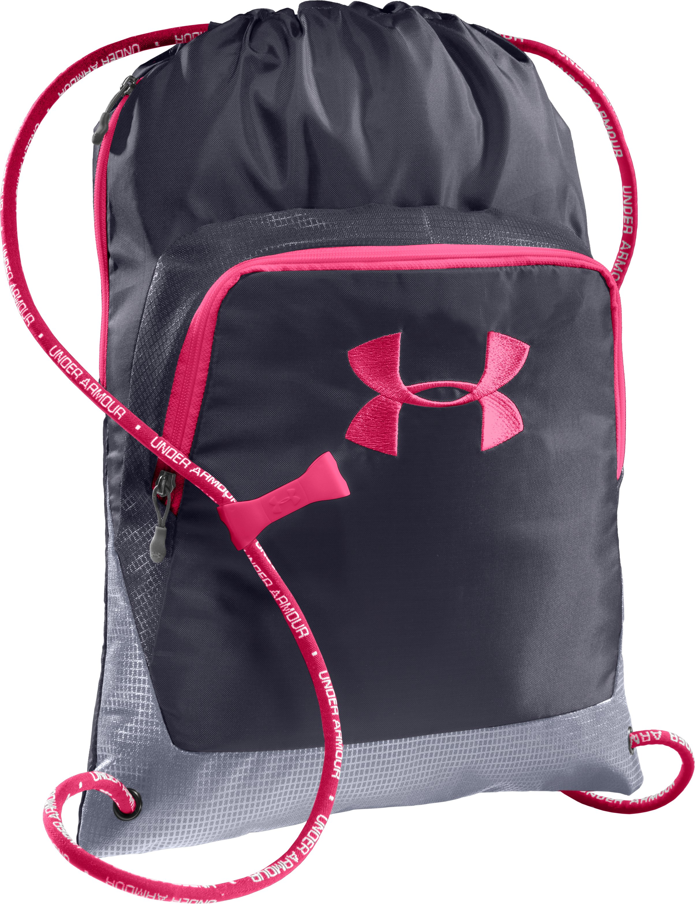 UA Exeter Sackpack, Lead, zoomed image