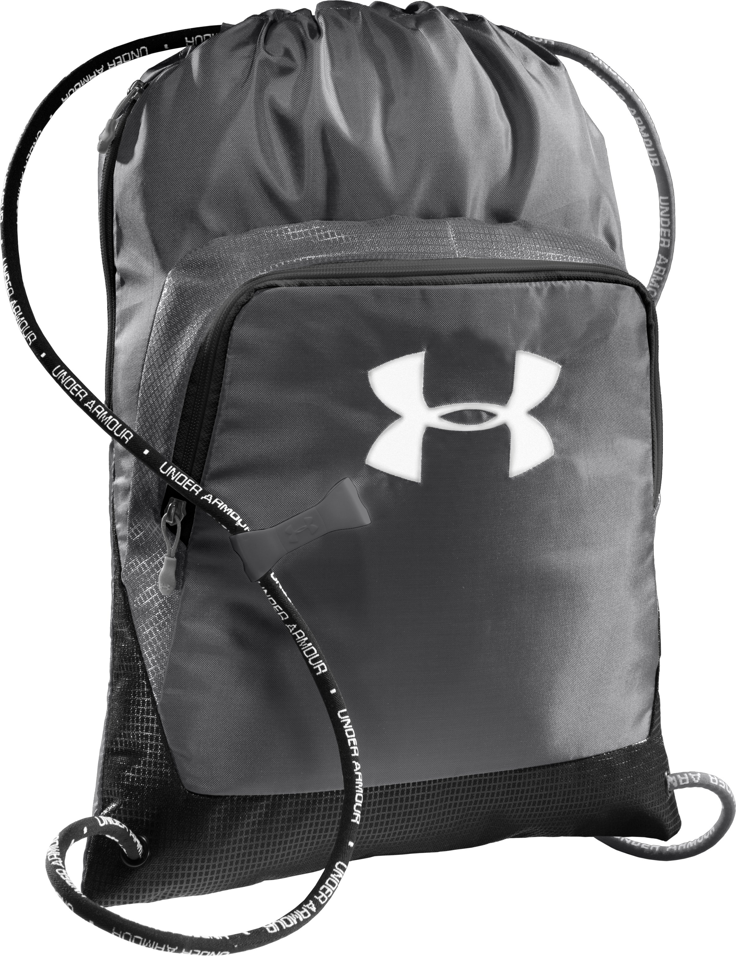 UA Exeter Sackpack, Graphite, zoomed image