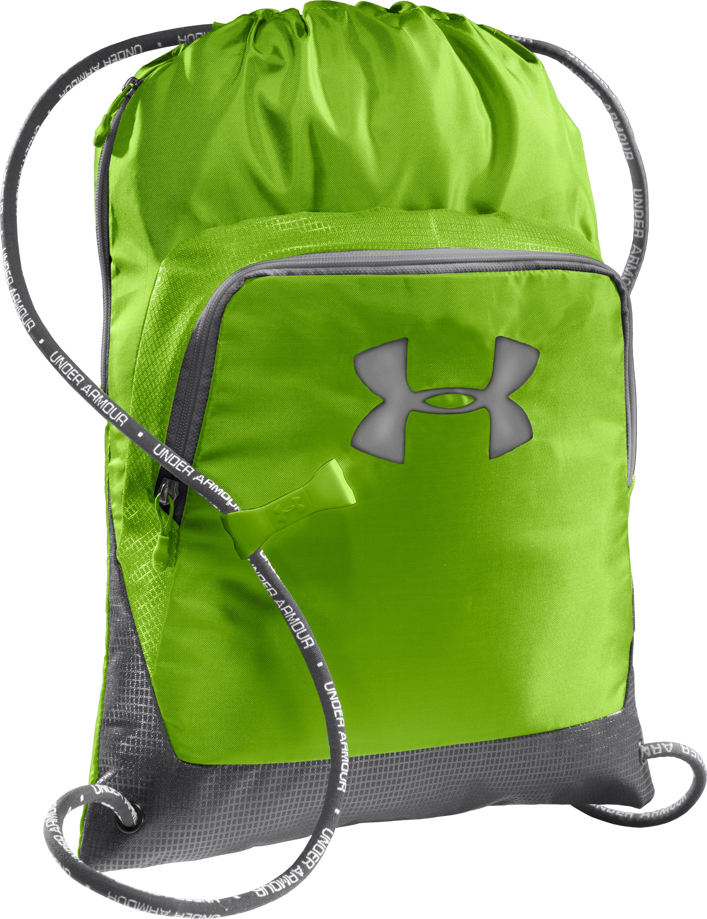 UA Exeter Sackpack, HYPER GREEN, zoomed image