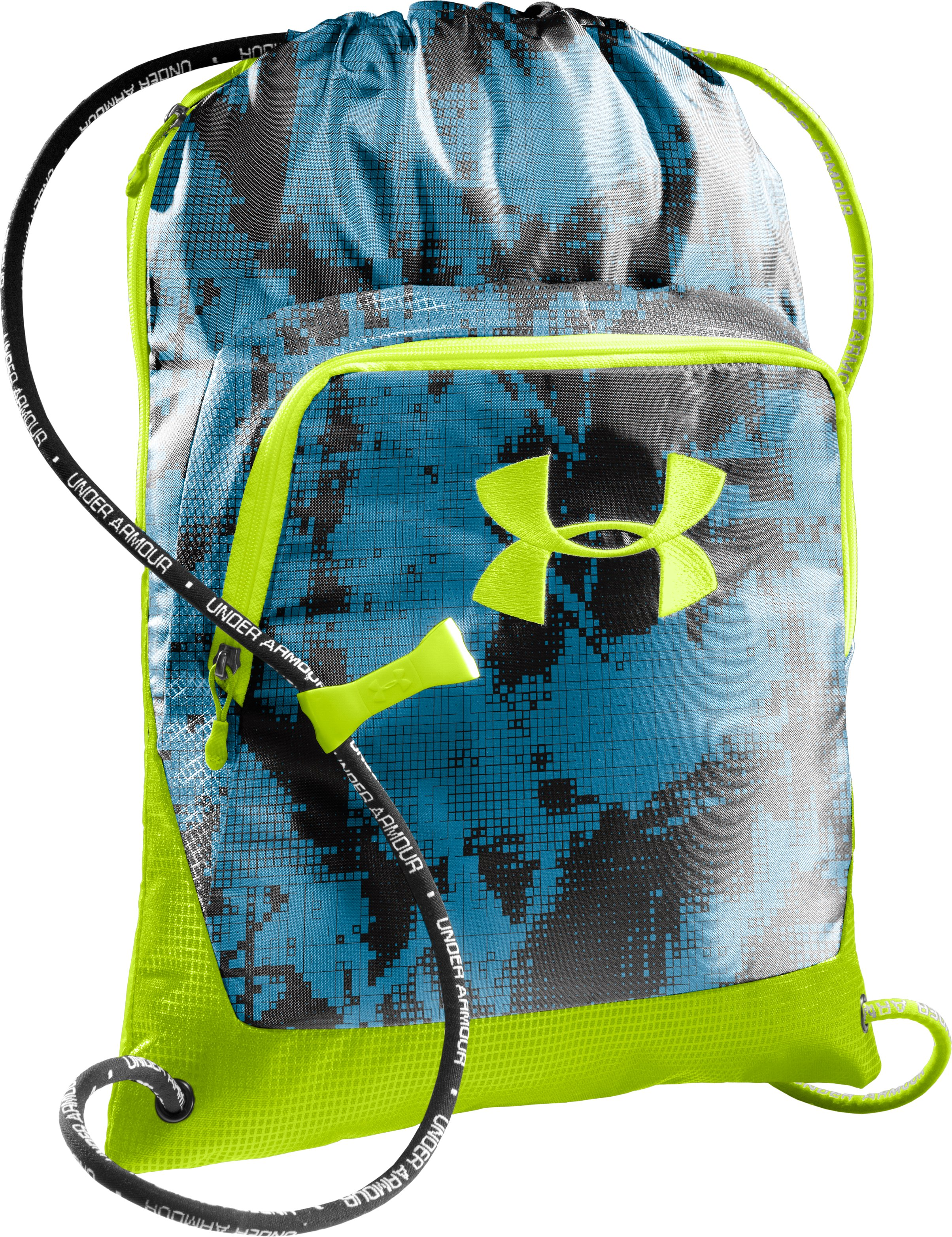 UA Exeter Sackpack, ELECTRIC BLUE, zoomed image