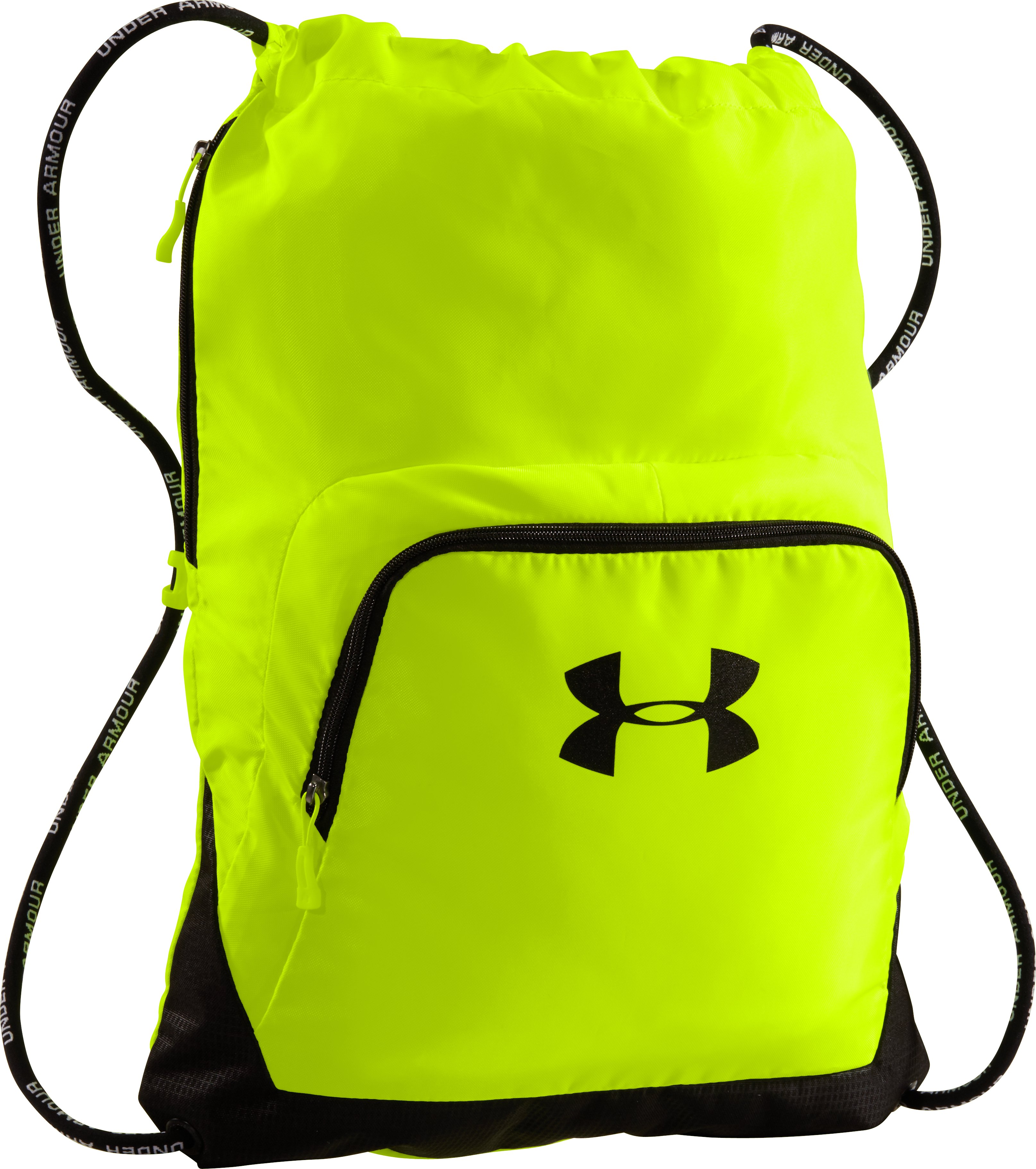 UA Exeter Sackpack, High-Vis Yellow, zoomed image