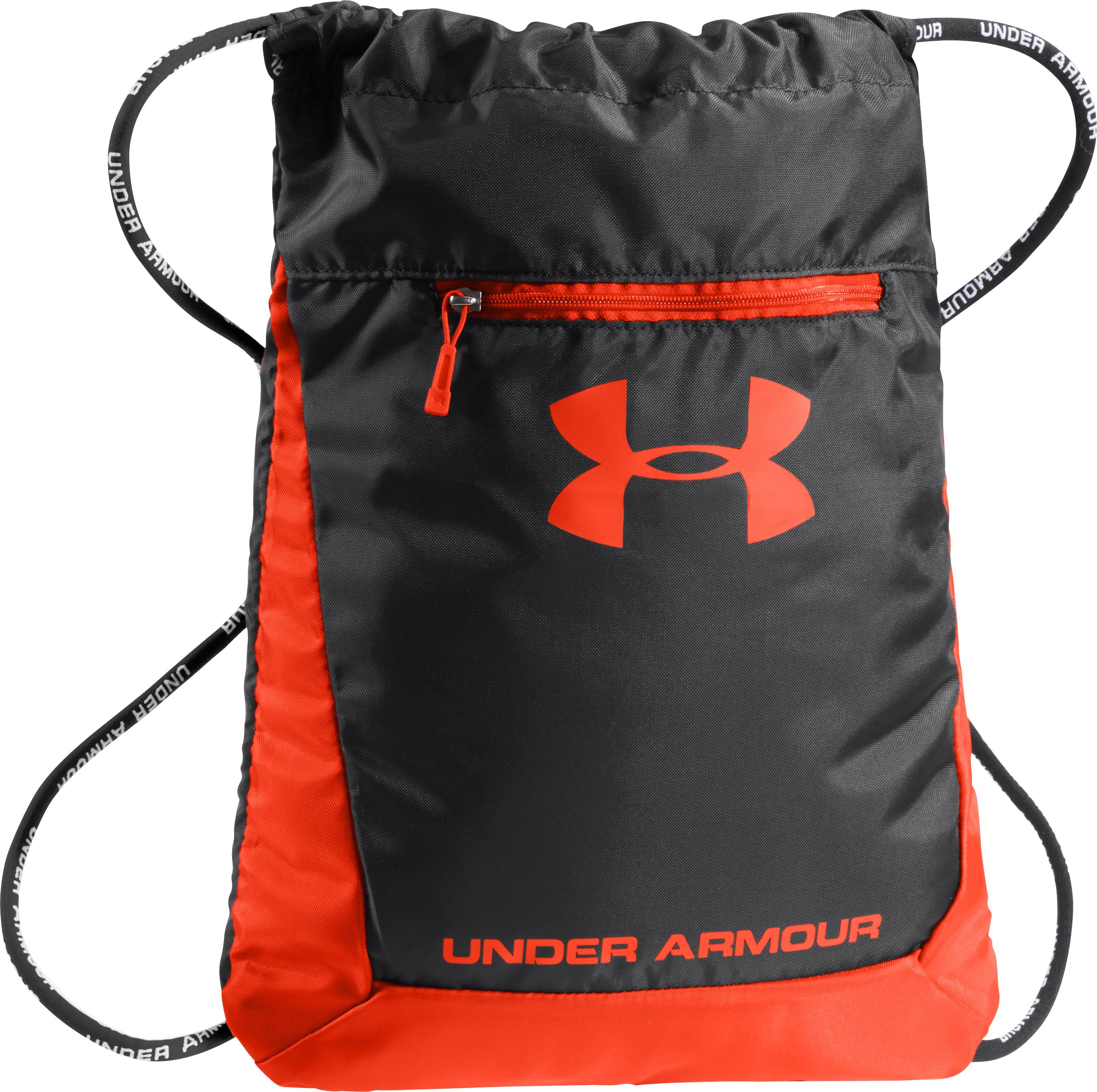 UA Hustle Sackpack, Black , zoomed image