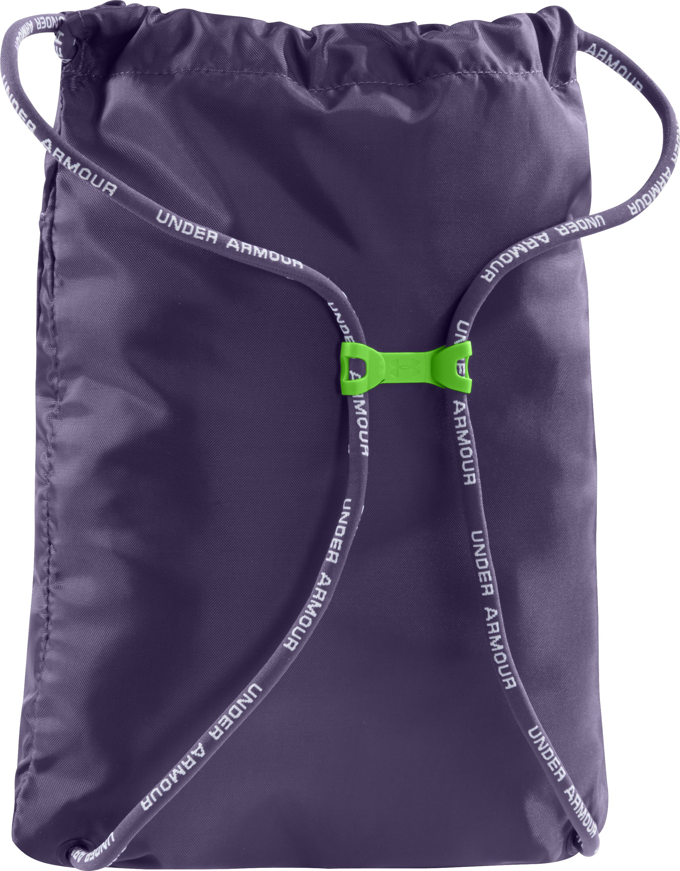 UA Hustle Sackpack, TWILIGHT PURPLE